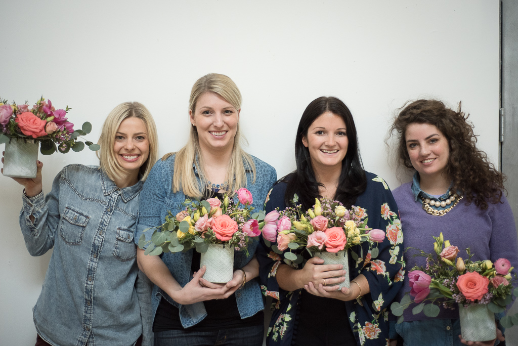 Blush and Bloom Floral Workshop by Jenn Kavanagh Photography