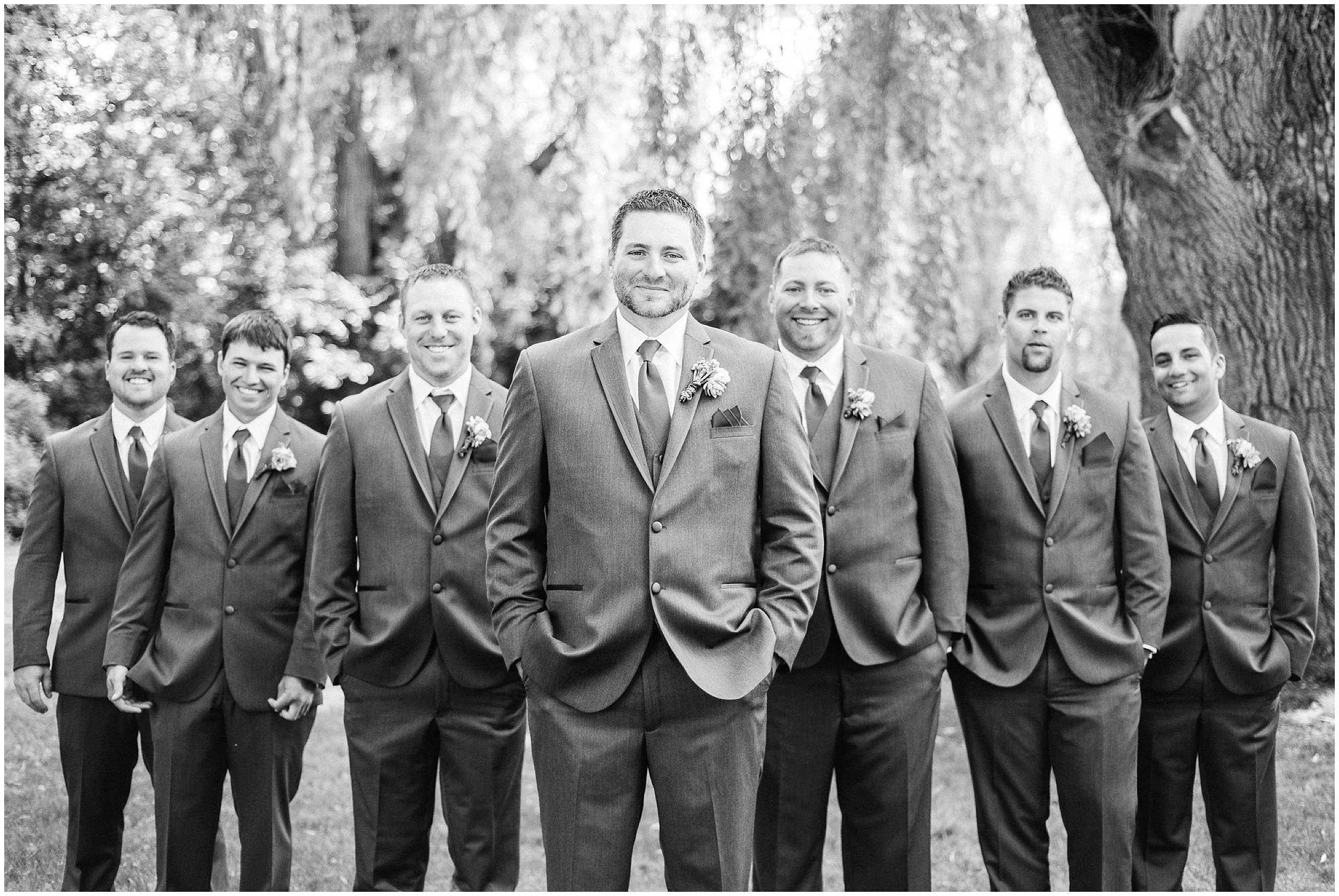 Groomsmen at Bear Estate wedding, photographed by Jenn Kavanagh Photography