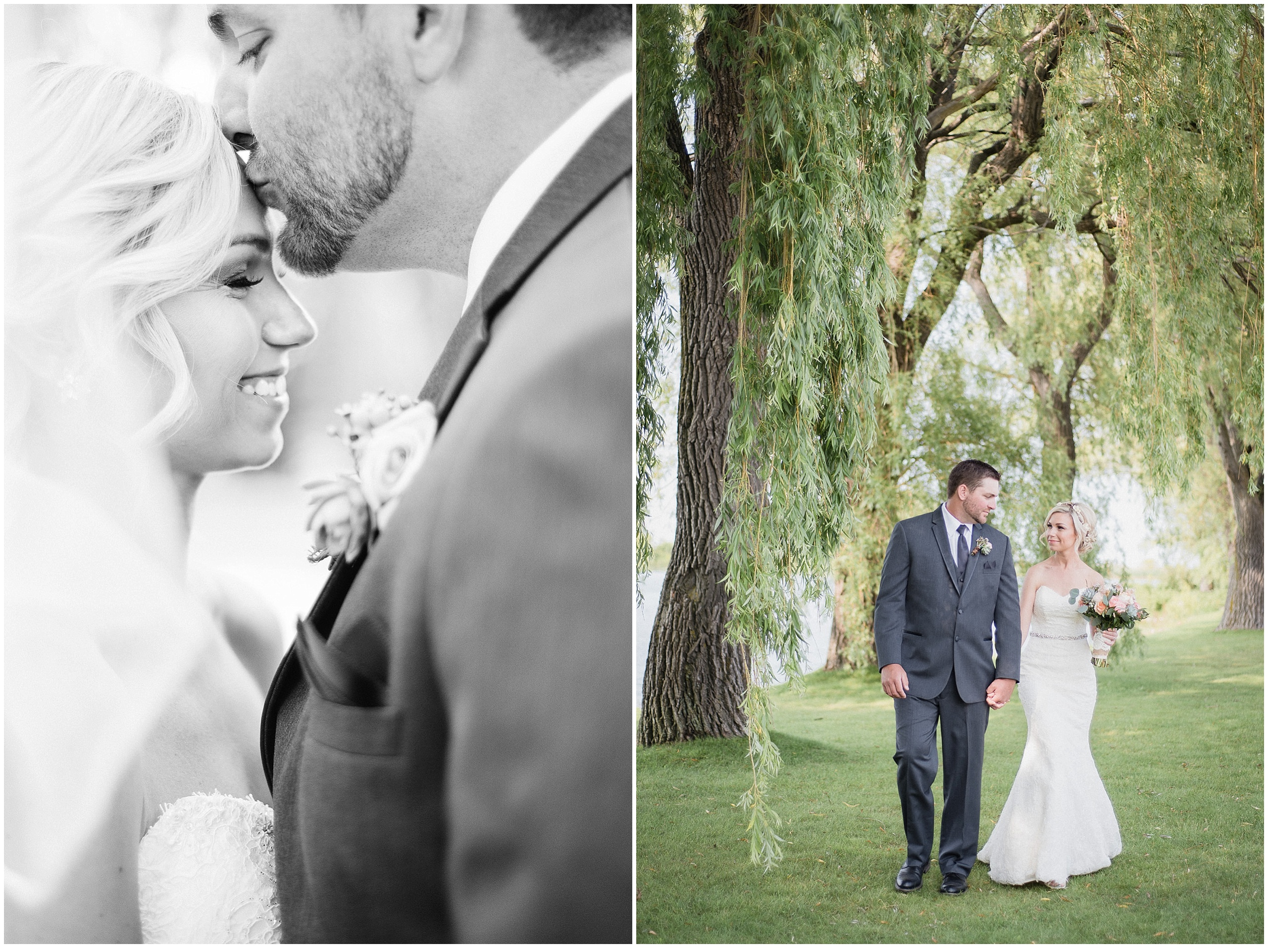 Stunning bride and groom at their Bear Estate Wedding, photographed by Jenn Kavanagh Photography