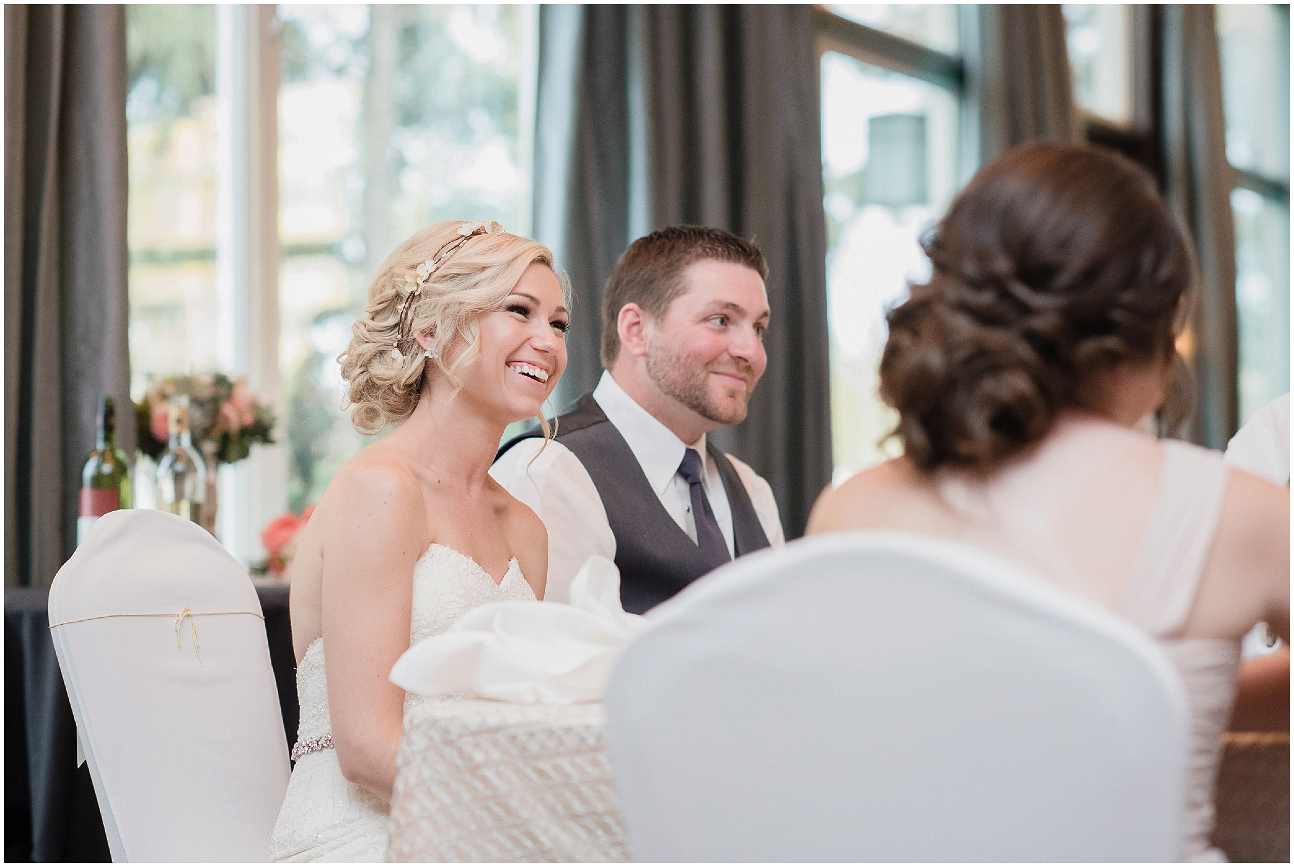 Stunning bride and groom at their Bear Estate Wedding photographed by Jenn Kavanagh Photography