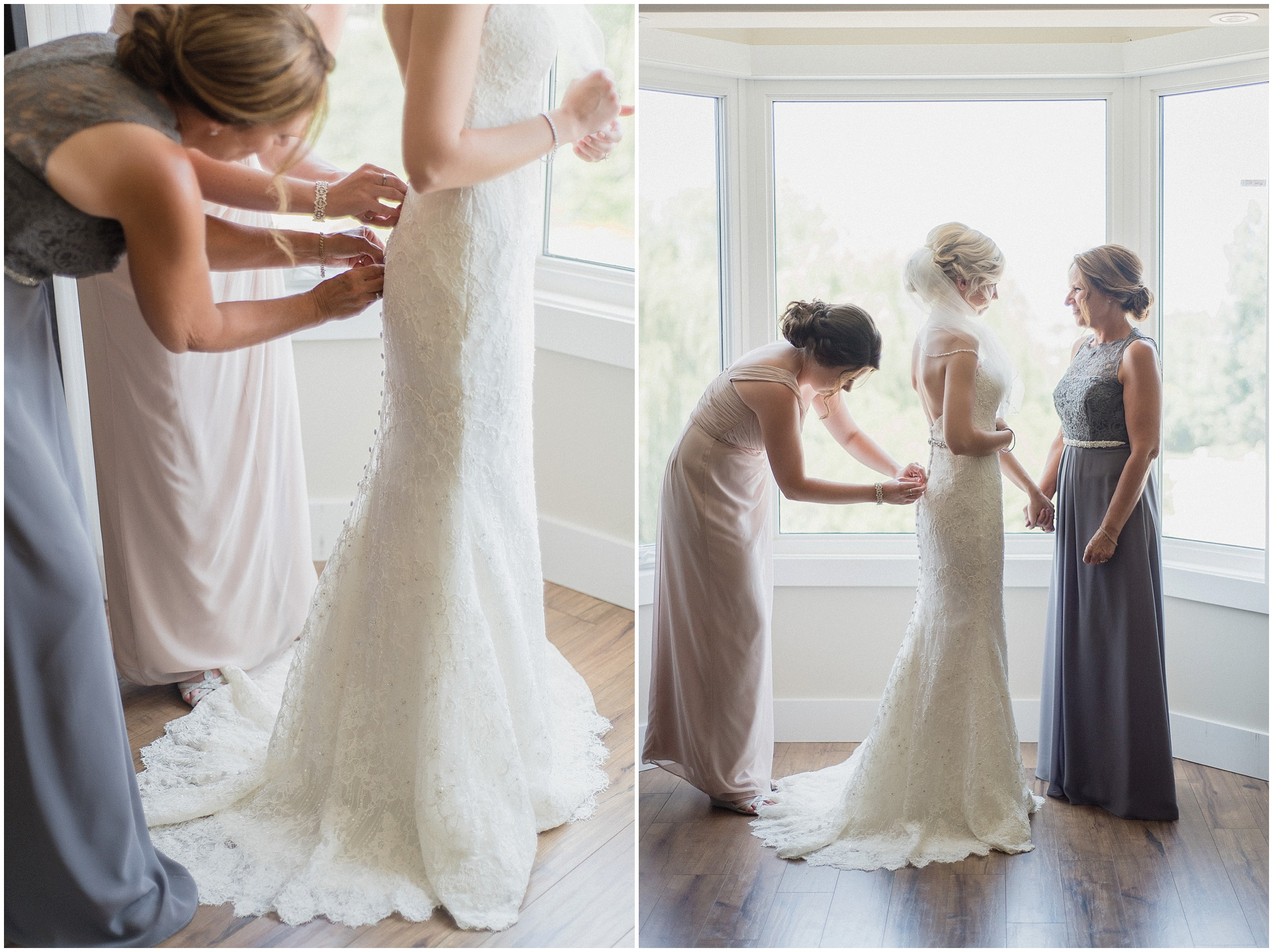 Sweet moment between Bride and her Mom! Photographed by Jenn Kavanagh Photography