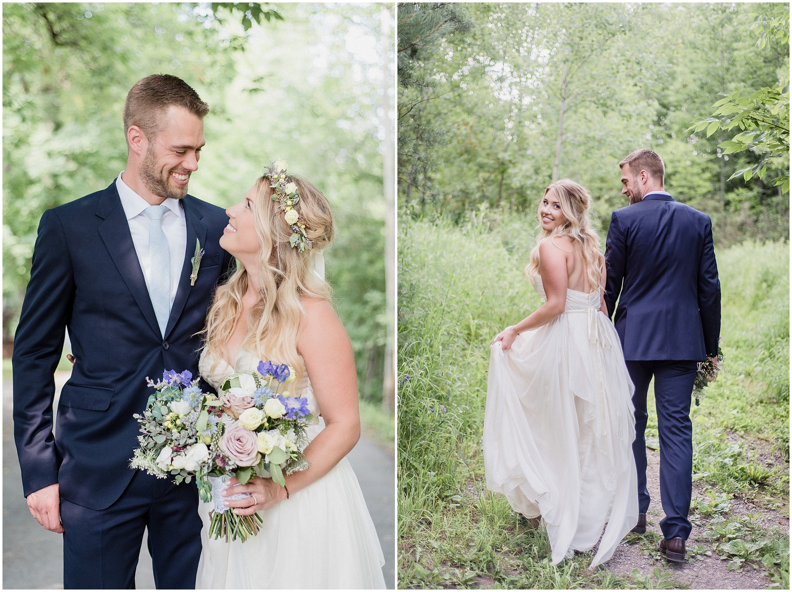 Alton Mill Wedding photographed by Jenn Kavanagh Photography