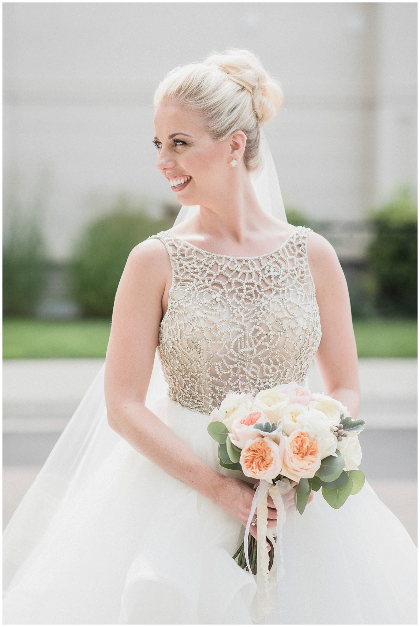 Beautiful bride in Hayley Paige Dori gown photographed by Jenn Kavanagh Photography
