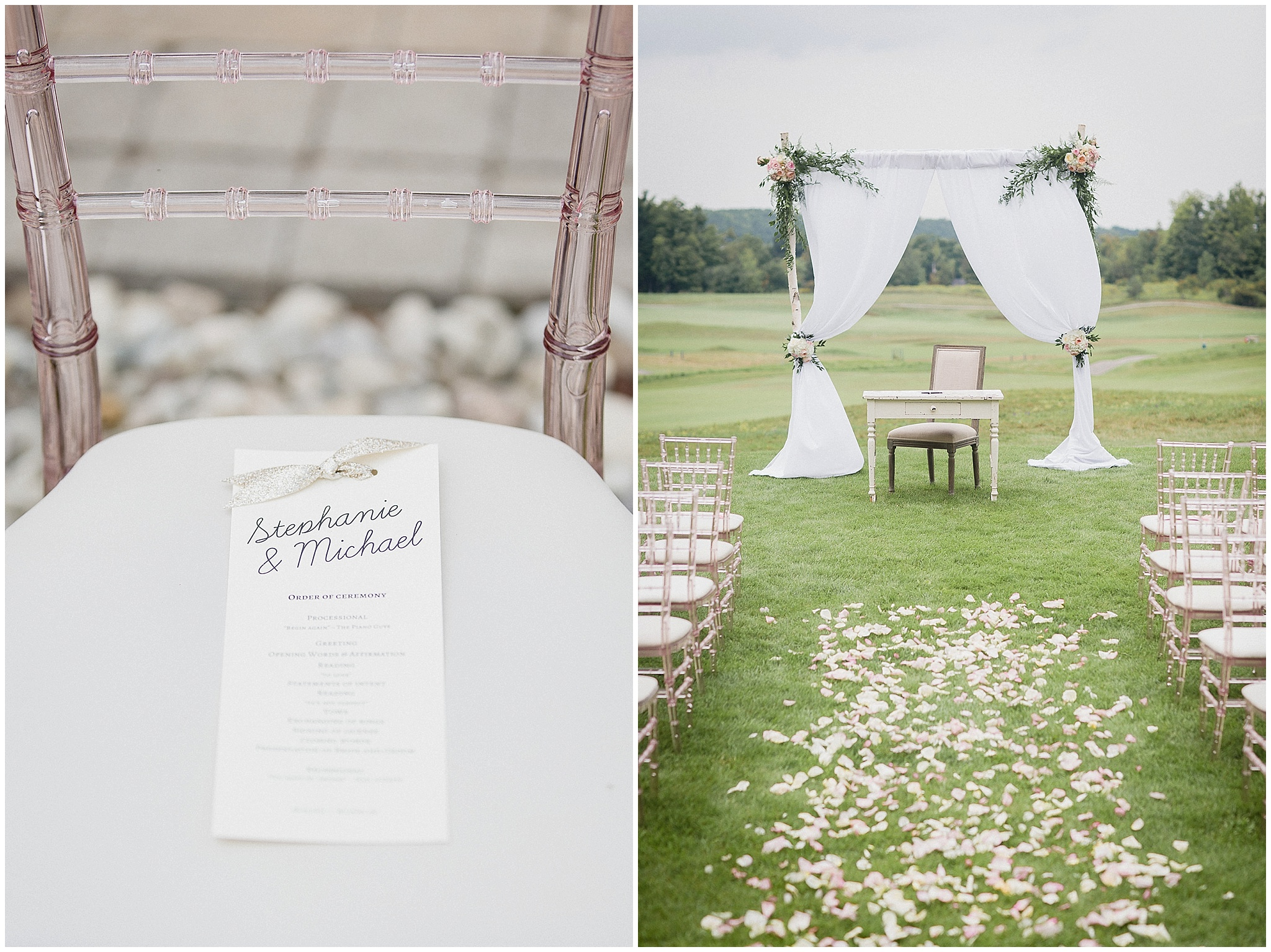 Glencairn wedding ceremony photographed by Jenn Kavanagh Photography