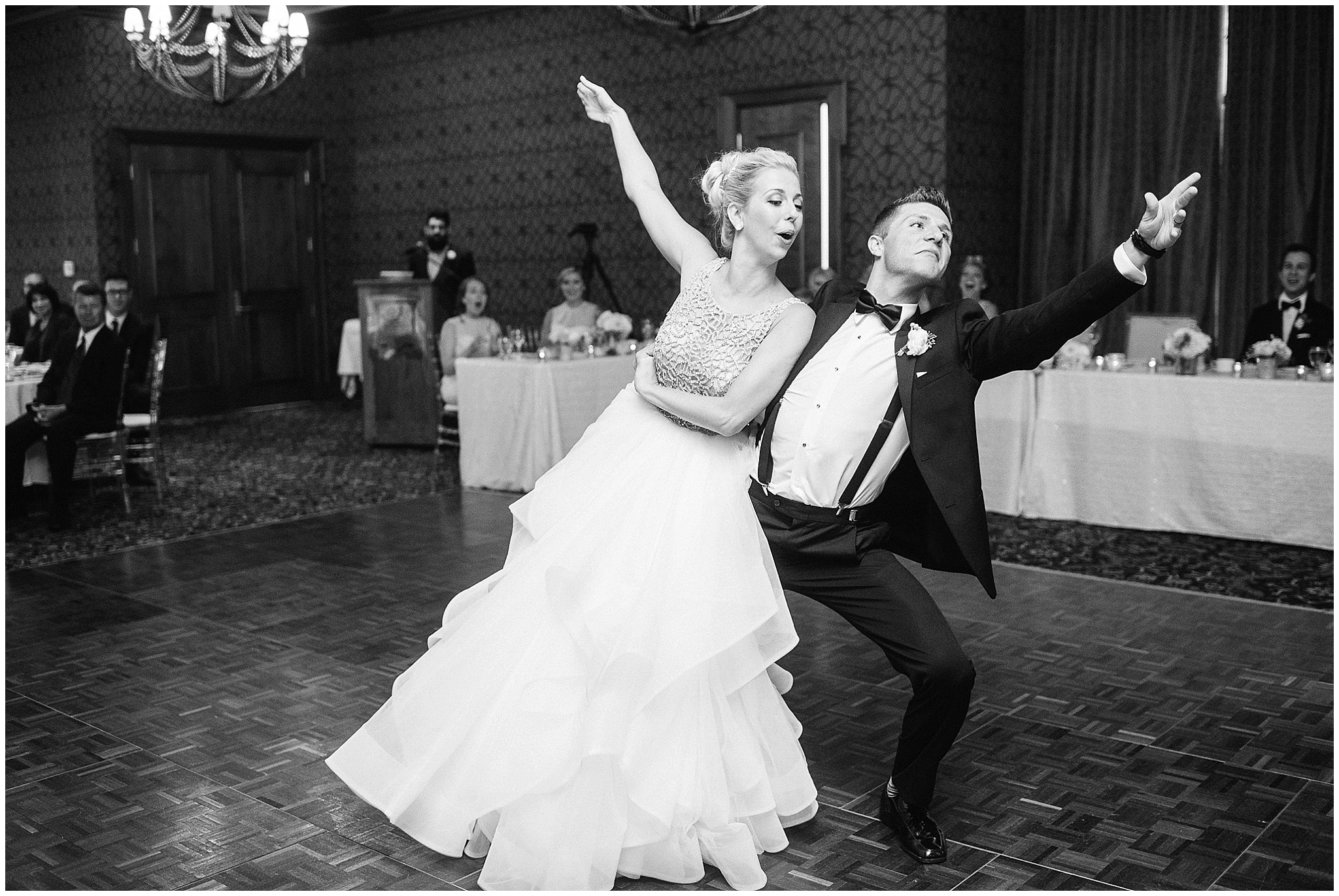 Bride and groom's first dance photographed by Jenn Kavanagh Photography