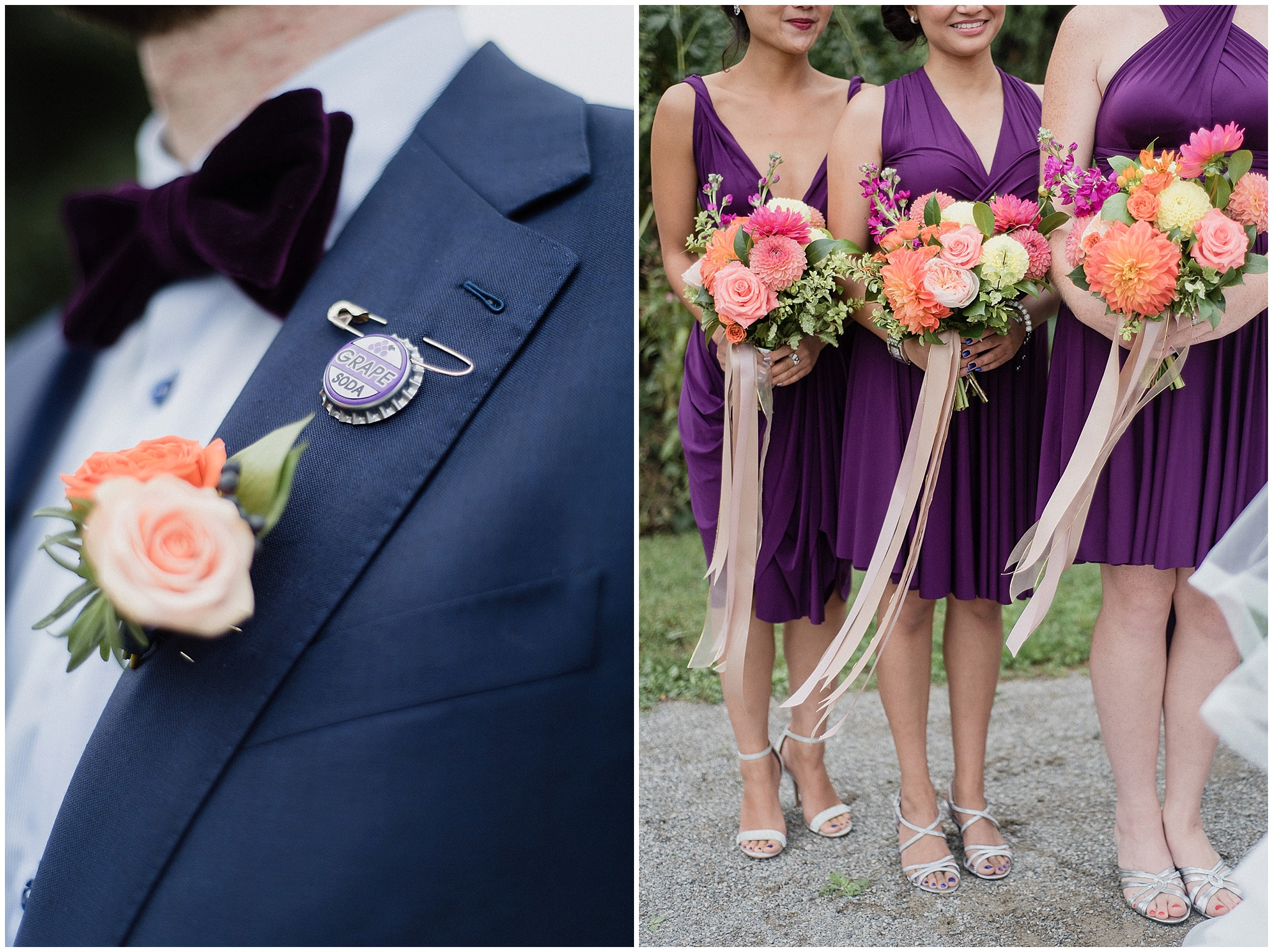 Centennial Park Wedding Portraits photographed by Jenn Kavanagh Photography