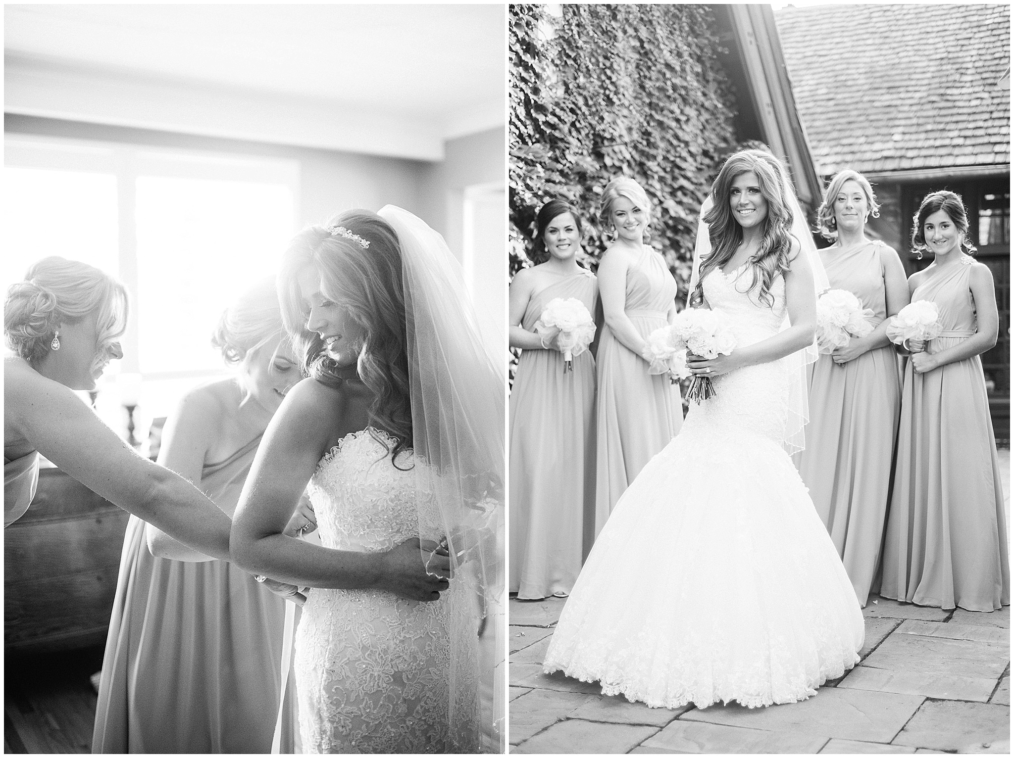 Bride in a Maggie Sottero gown photographed by Jenn Kavanagh Photography