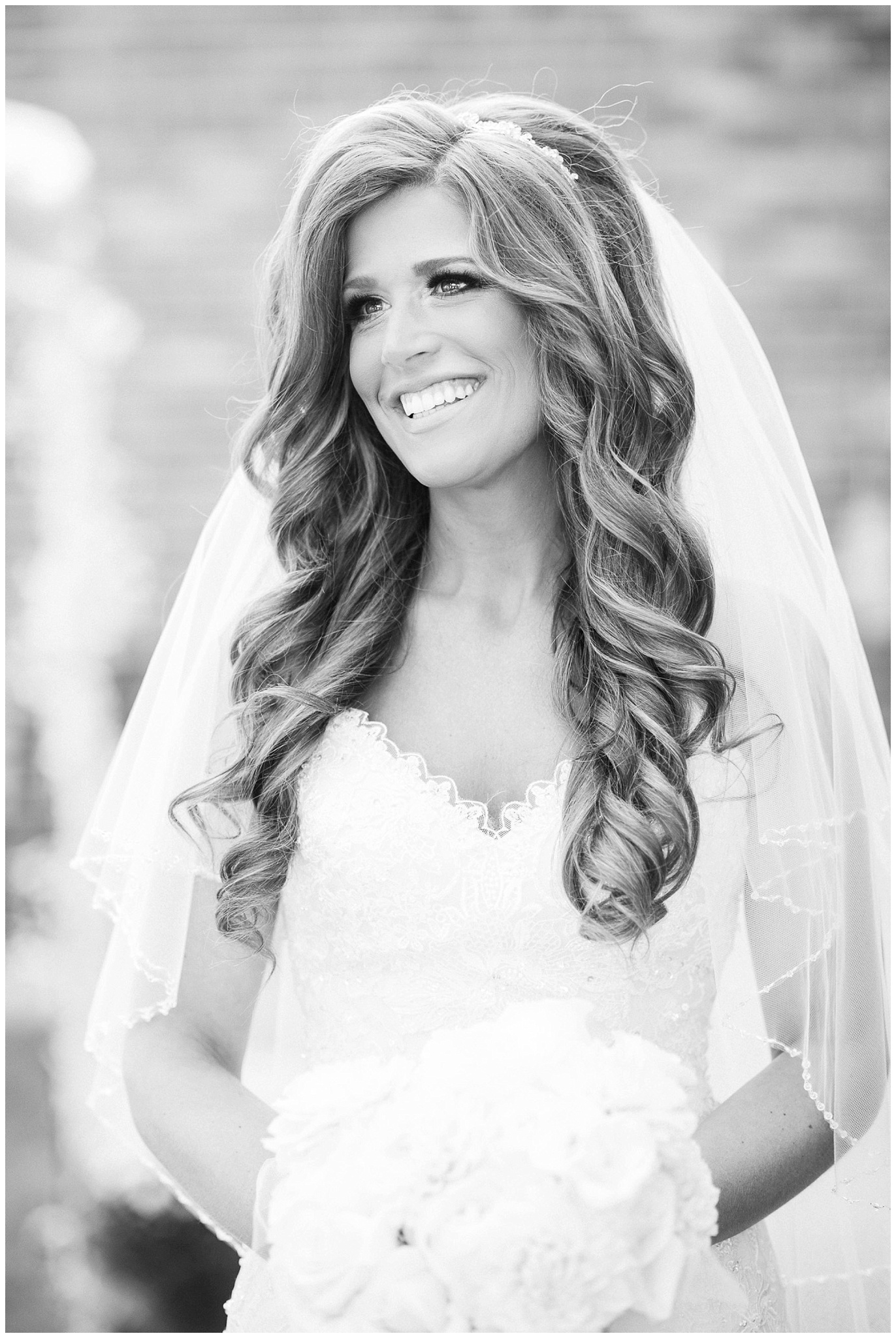 Bride in Maggie Sottero gown photographed by Jenn Kavanagh Photography