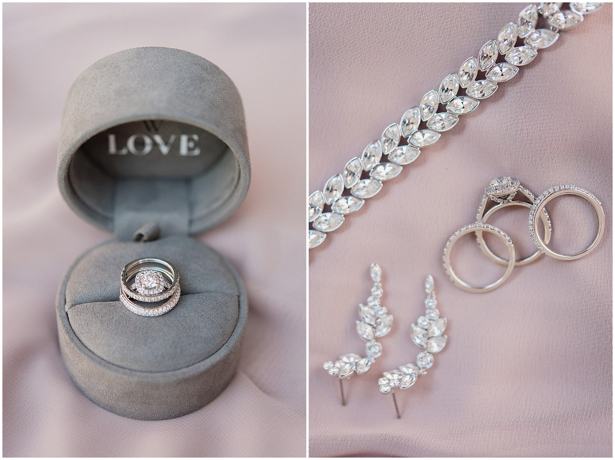 Wedding rings photographed by Jenn Kavanagh Photography
