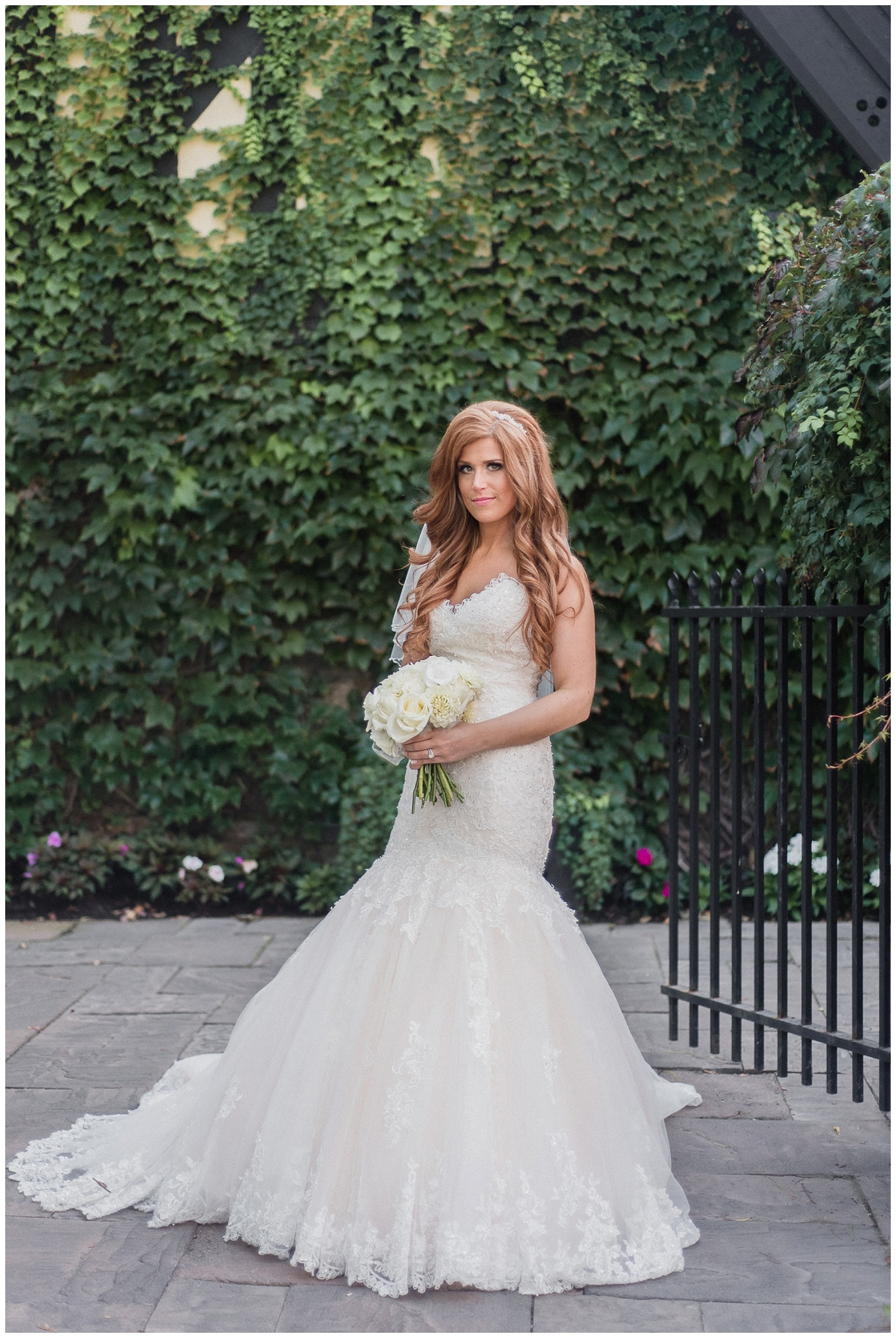 Bride wearing a Maggie Sottero gown photographed by Jenn Kavanagh Photography