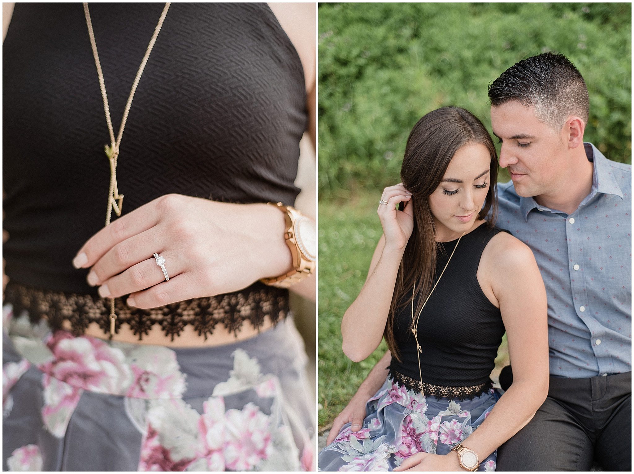 Hearts and Arrows Niagara on the Lake engagement session by Jenn Kavanagh Photography