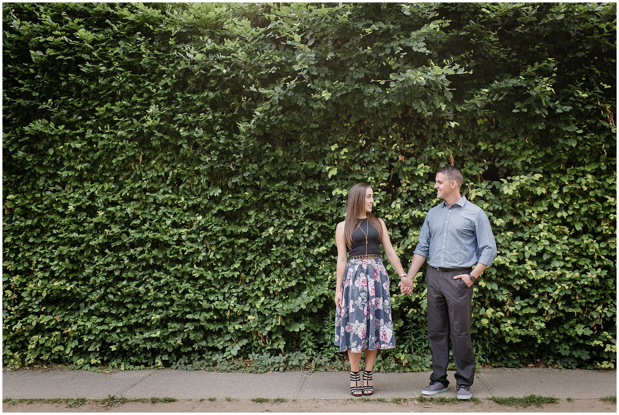 Niagara on the Lake engagement session by Jenn Kavanagh Photography