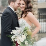 Cambridge Mill Winter Wedding by Jenn Kavanagh Photography