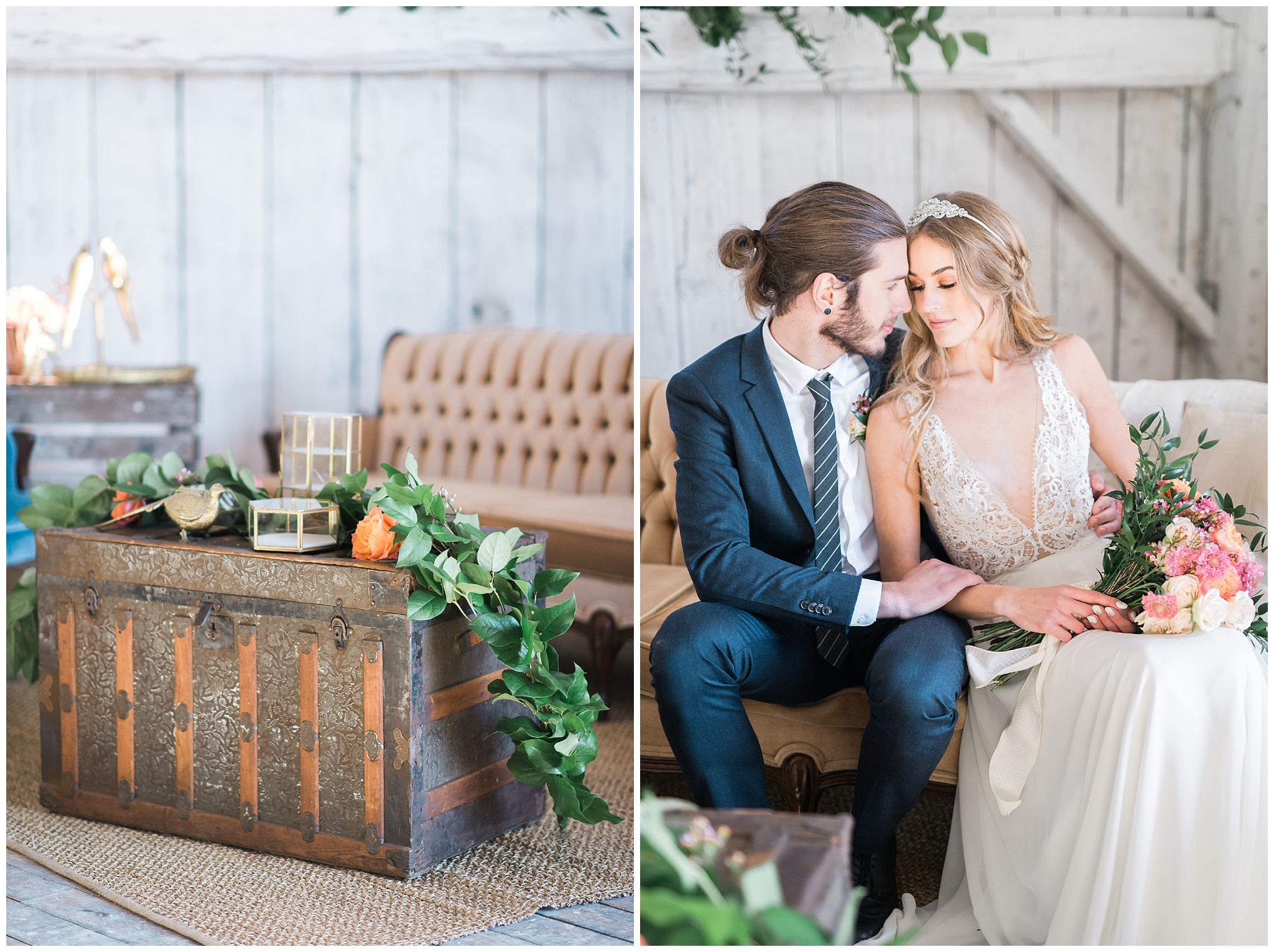 Napa Valley Chic Wedding Inspiration featured on 100 Layer Cake photographed by Jenn Kavanagh Photography