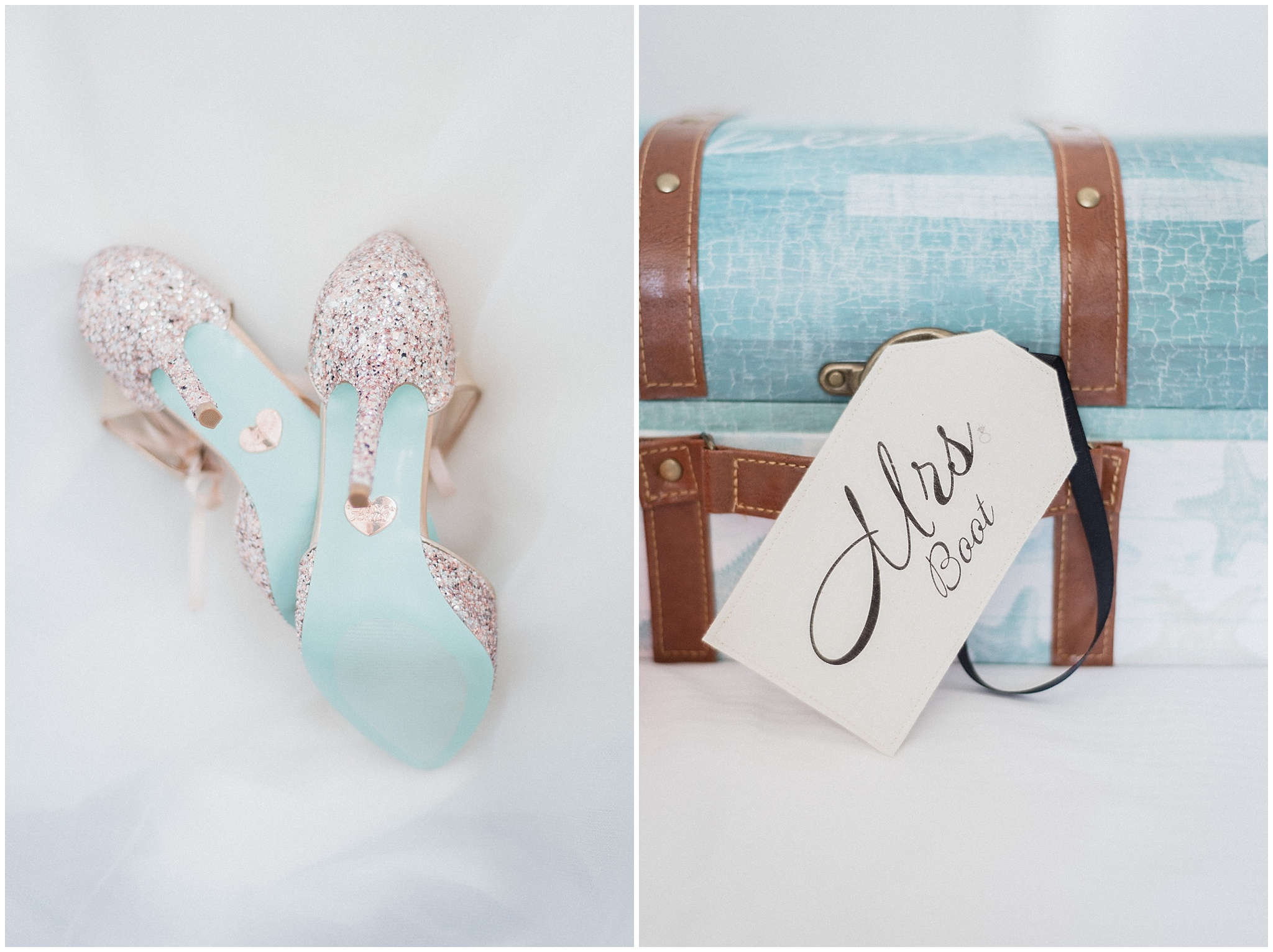 Betsey Johnson sparkly heels | Distillery District wedding by Jenn Kavanagh Photography