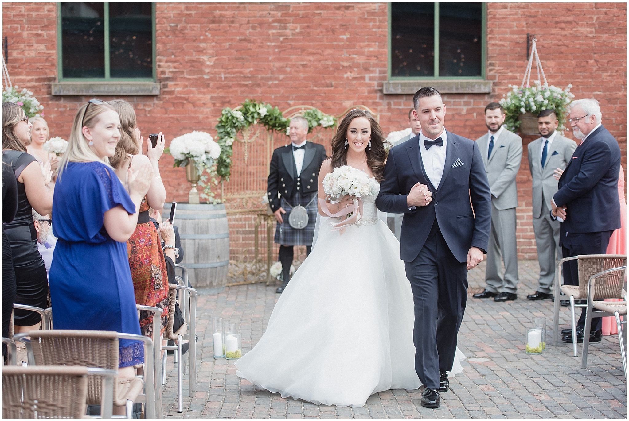 Archeo ceremony | Distillery District wedding by Jenn Kavanagh Photography