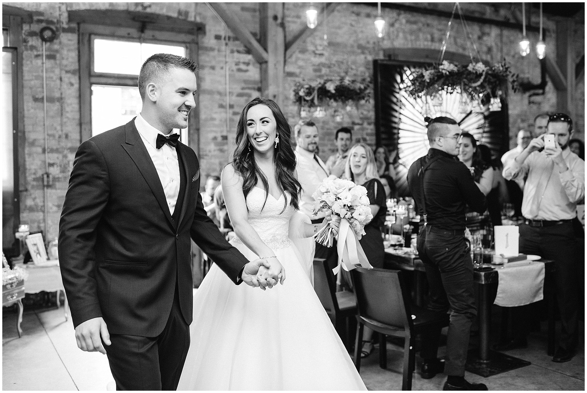 Archeo wedding reception | Distillery District wedding by Jenn Kavanagh Photography