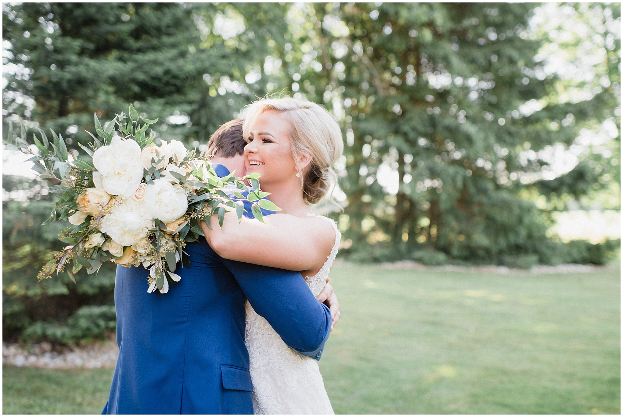 Tent wedding on family farm in Guelph, Ontario by Jenn Kavanagh Photography