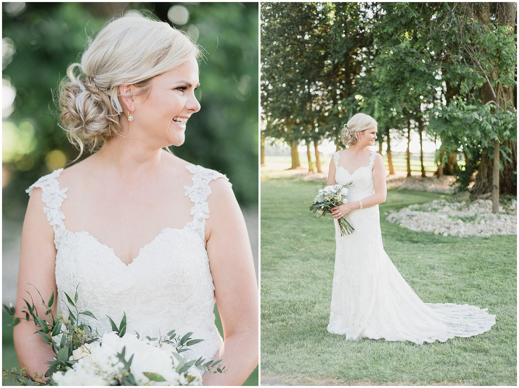 Essense of Australia gown | Tent wedding on family farm in Guelph, Ontario by Jenn Kavanagh Photography