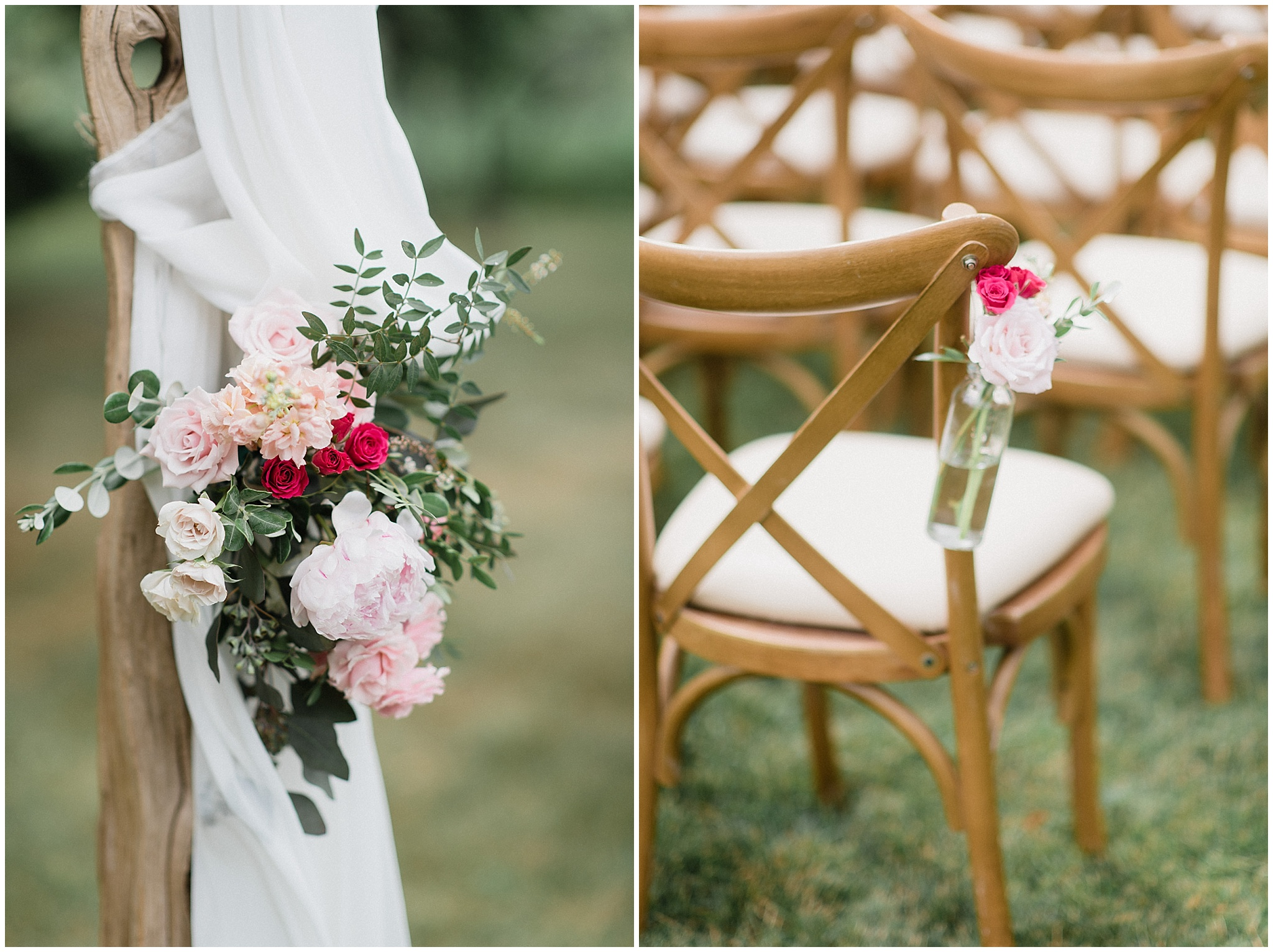 Rustic and romantic DIY Cambium Farms barn wedding by Jenn Kavanagh Photography
