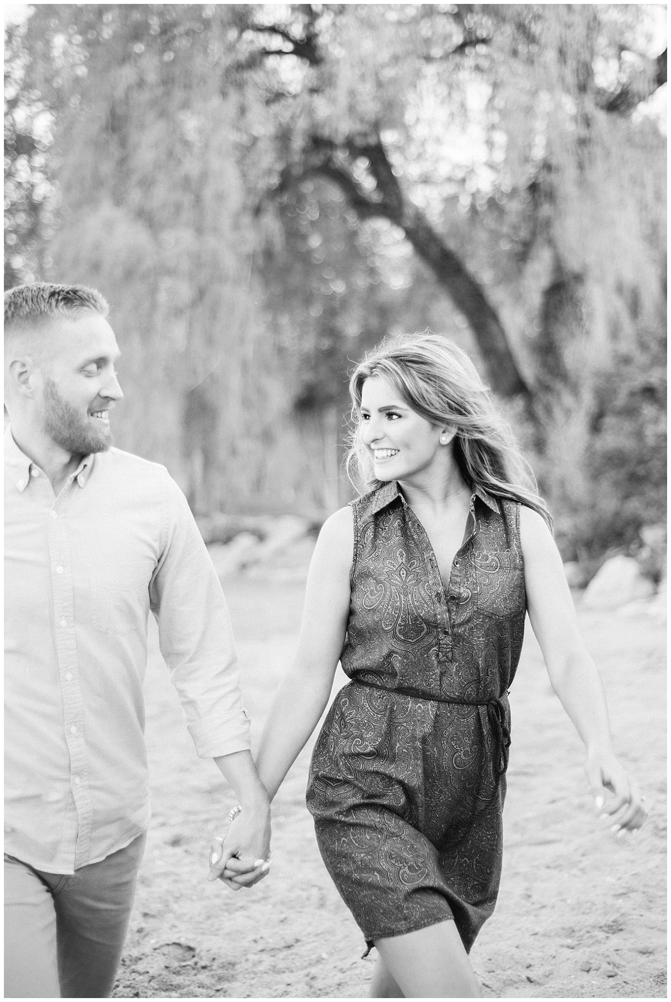 Lakeside Engagement Session by Jenn Kavanagh Photography