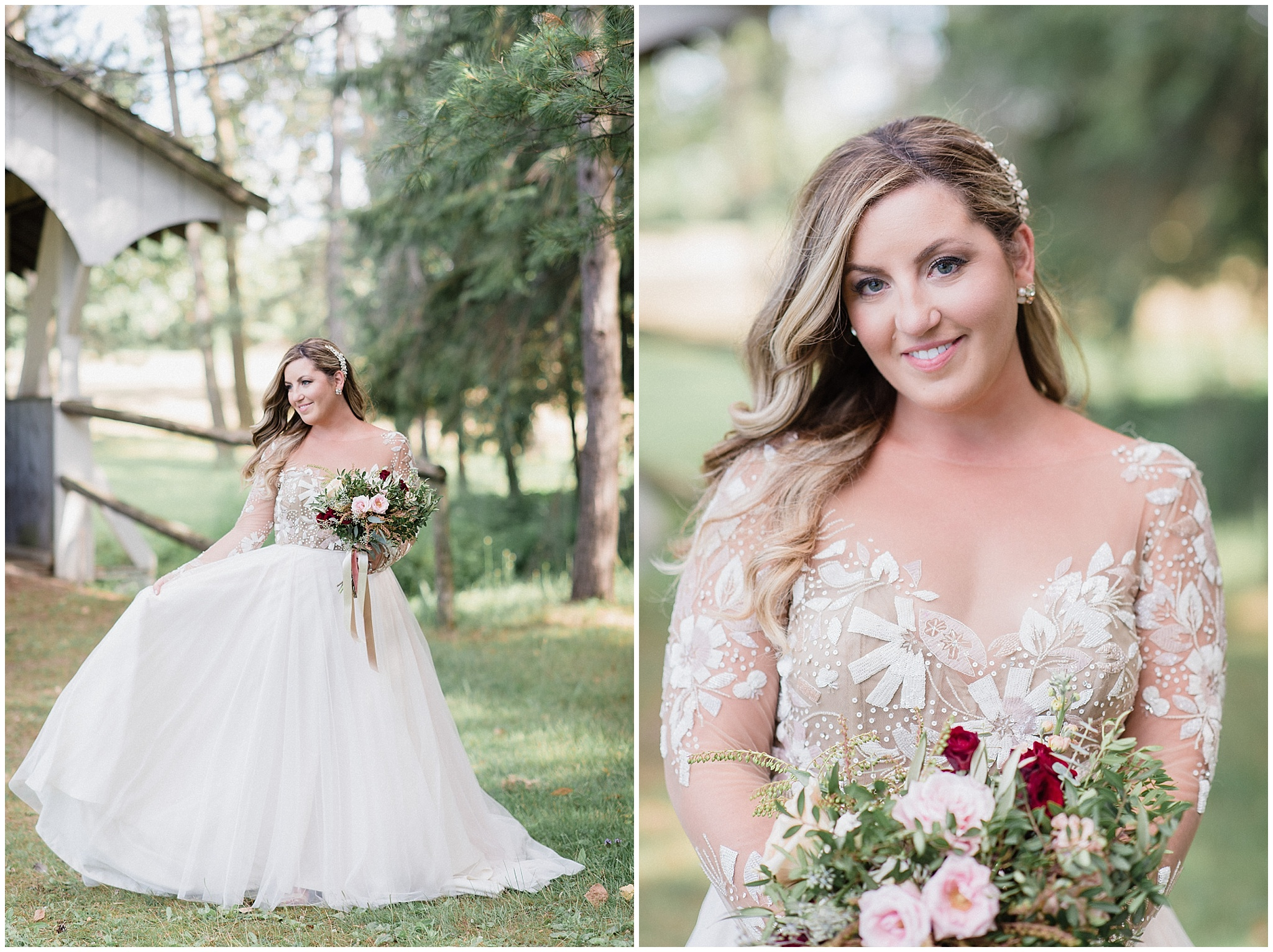 Bridal portraits at Tralee Wedding Facility, photographed by Jenn Kavanagh Photography