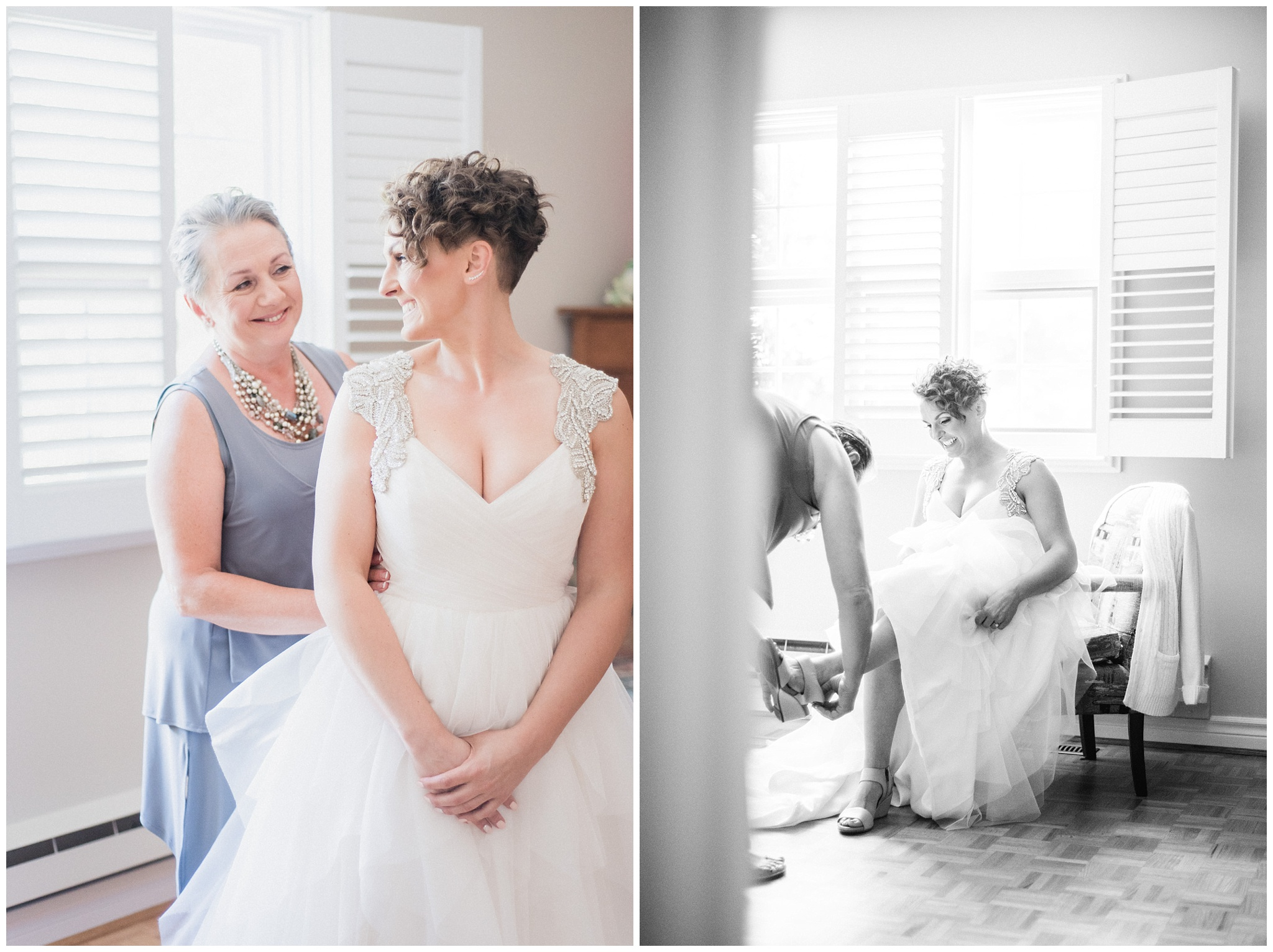 Bride getting ready by Jenn Kavanagh Photography