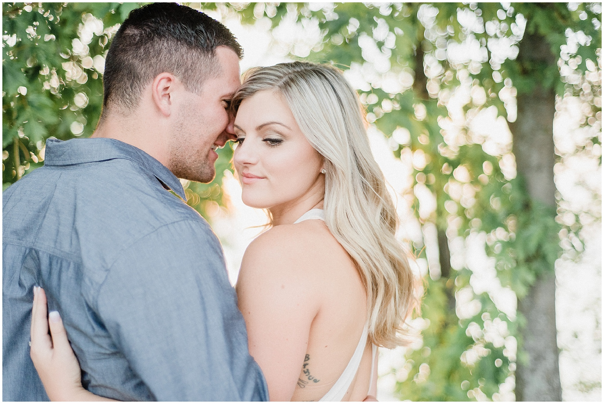 Summertime marina engagement session by Jenn Kavanagh Photography