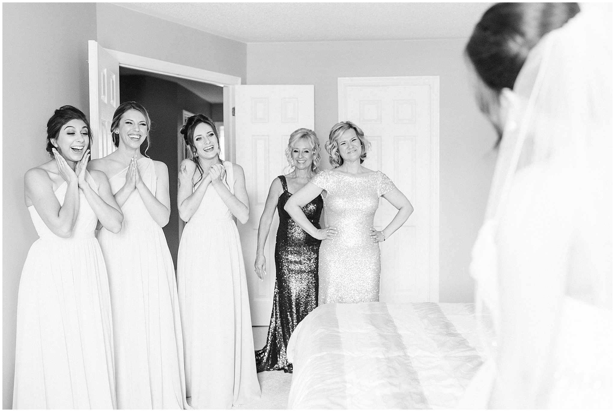 Bridesmaids first reveal by Jenn Kavanagh Photography
