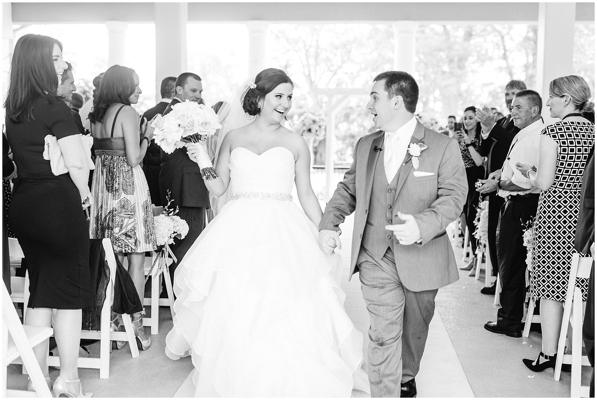 Wedding ceremony at LaSalle Banquet Centre by Jenn Kavanagh Photography