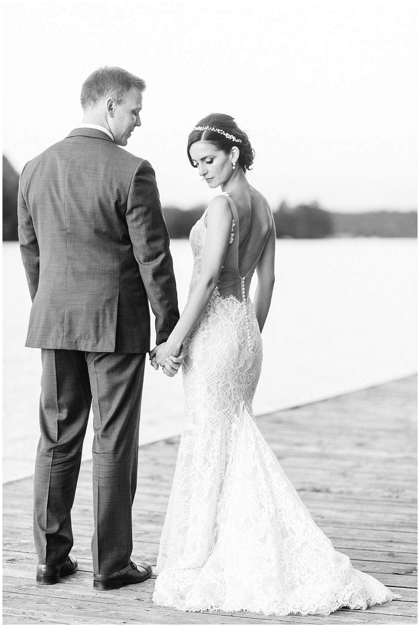Elegant Muskoka wedding by Jenn Kavanagh Photography