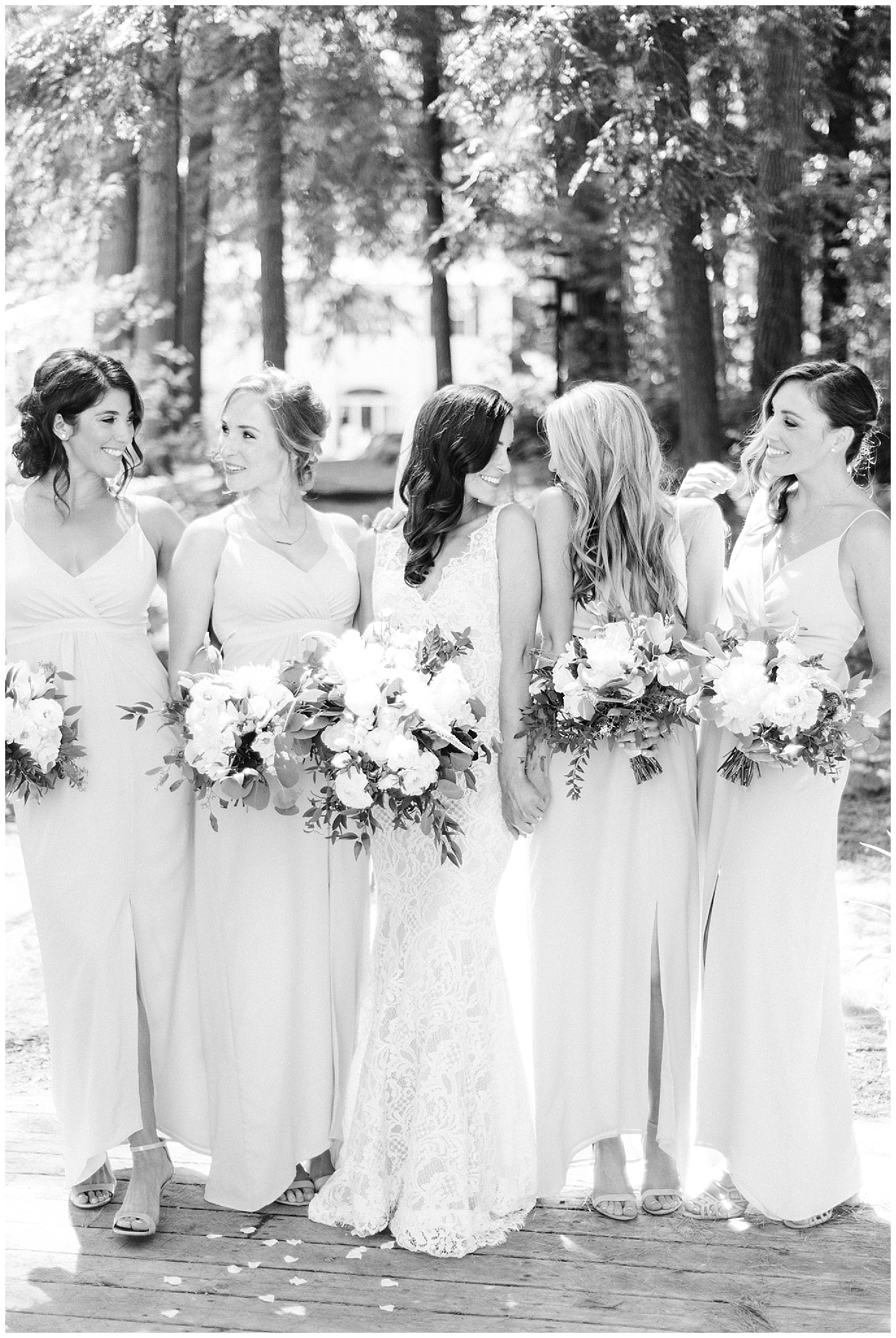elegant cottage country wedding in Muskoka by Jenn Kavanagh Photography