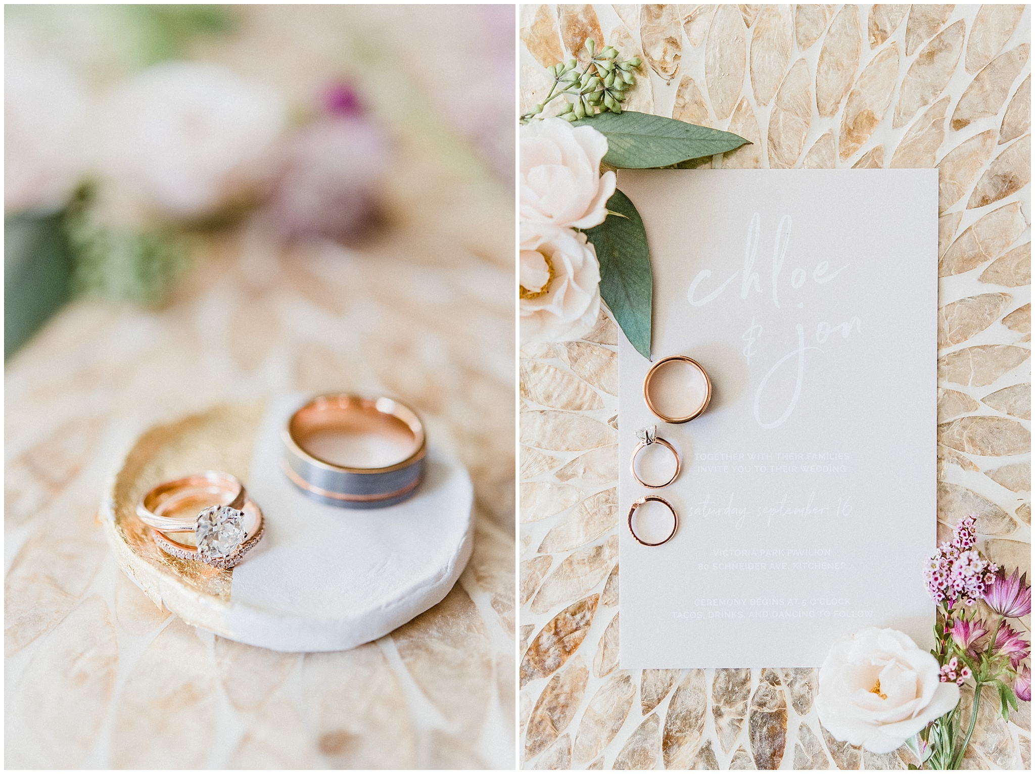 Chic, laid back wedding at Victoria Park Pavilion photographed by Jenn Kavanagh Photography