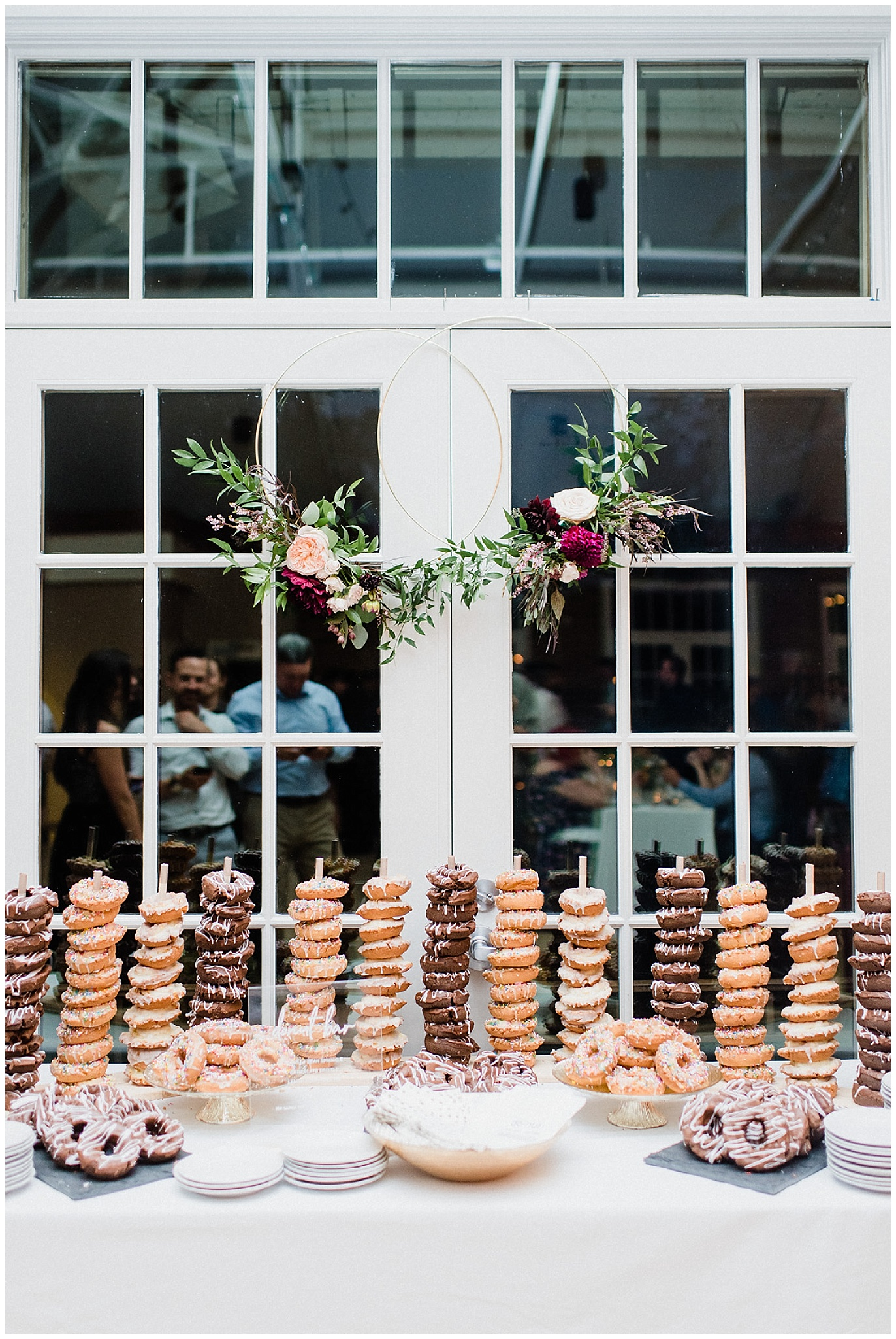 Donut Bar | Victoria Park Pavilion wedding by Jenn Kavanagh Photography