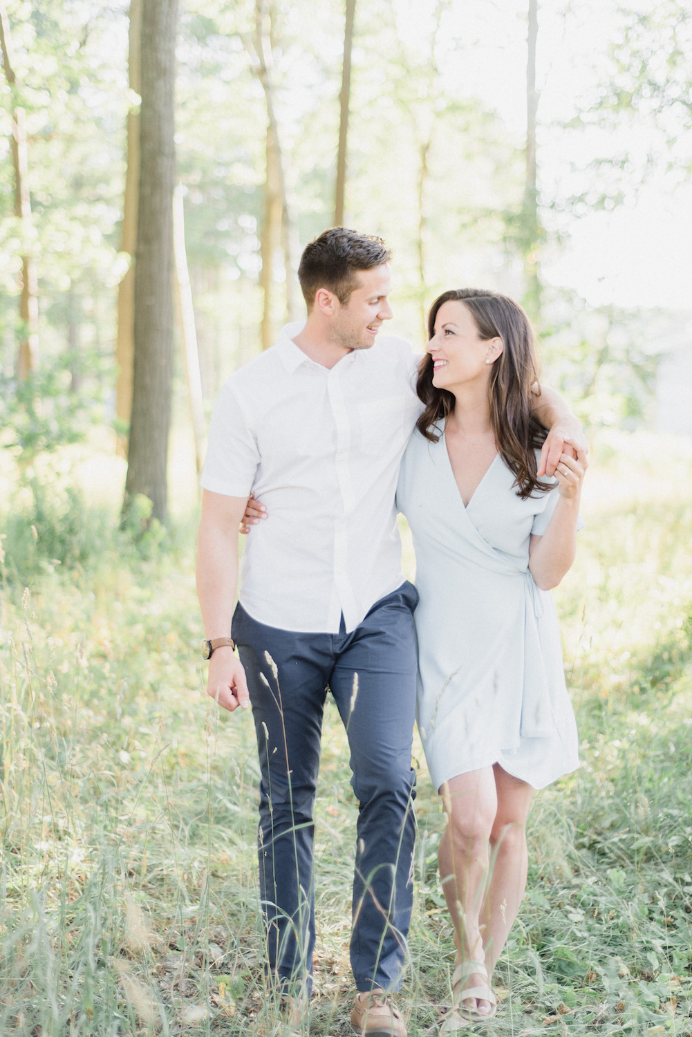Summertime engagement session by Jenn Kavanagh Photography