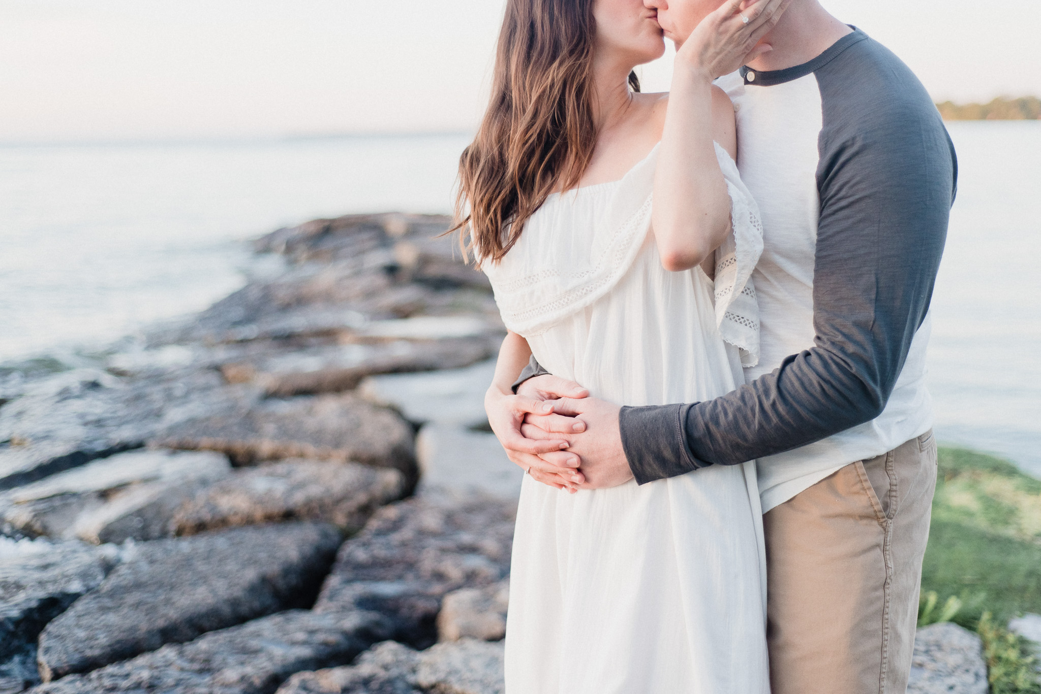 Beachy Ontario engagement session by Jenn Kavanagh Photography