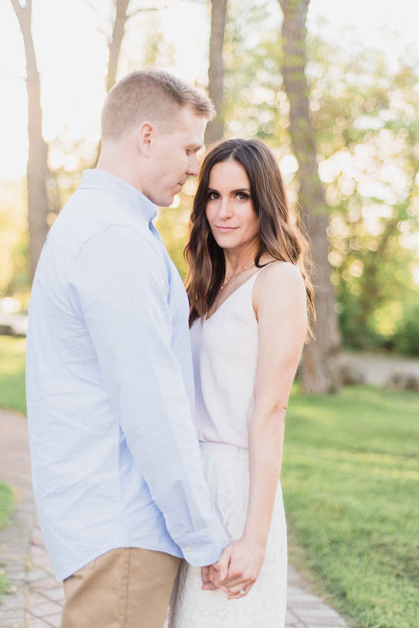 Sunny summertime engagement session by Jenn Kavanagh Photography