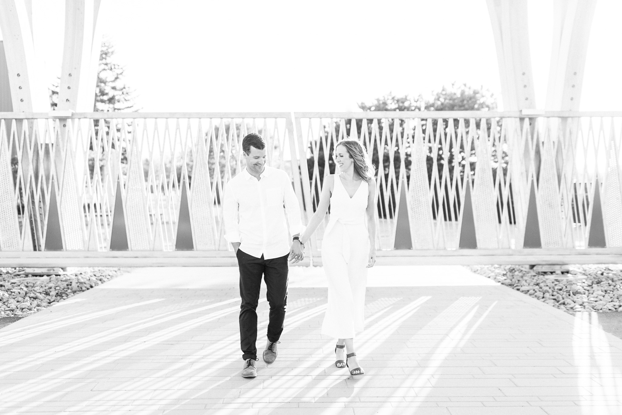 Trillium Park Toronto Engagement Session by Jenn Kavanagh Photography