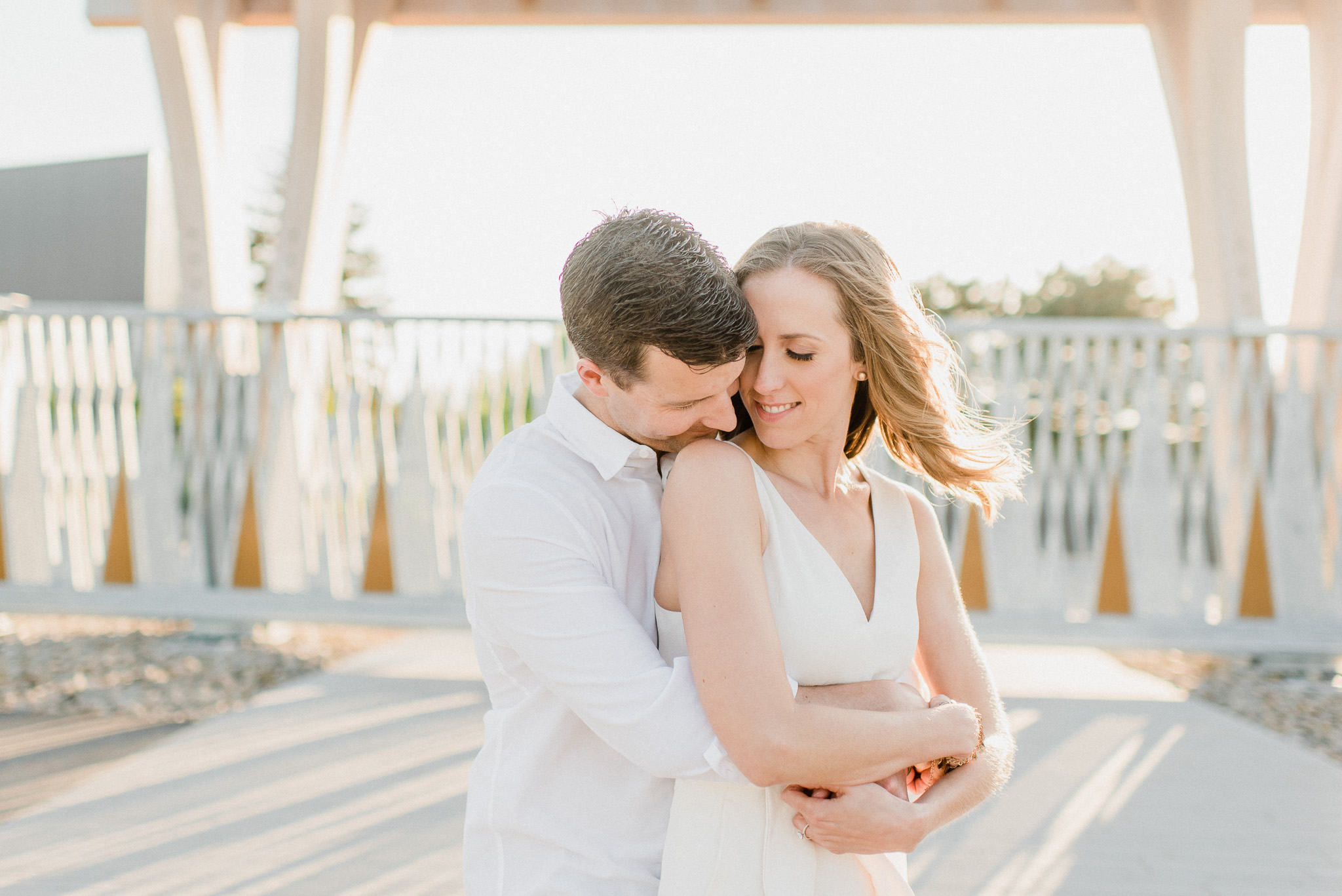 Toronto Lakeshore Engagement Session by Jenn Kavanagh Photography