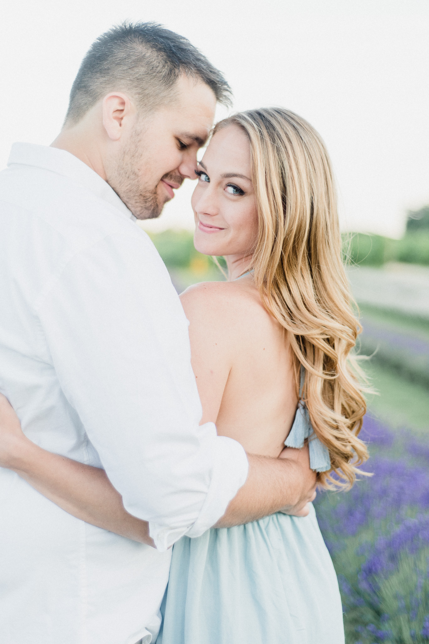Bonnieheath Estate Lavender & Winery Engagement Session by Jenn Kavanagh Photography