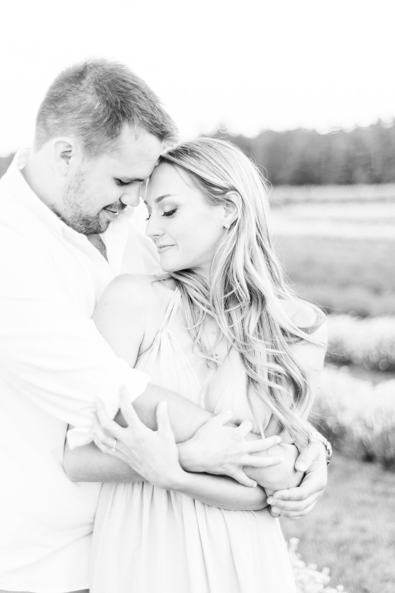 Lavender Field Engagement Session by Jenn Kavanagh Photography