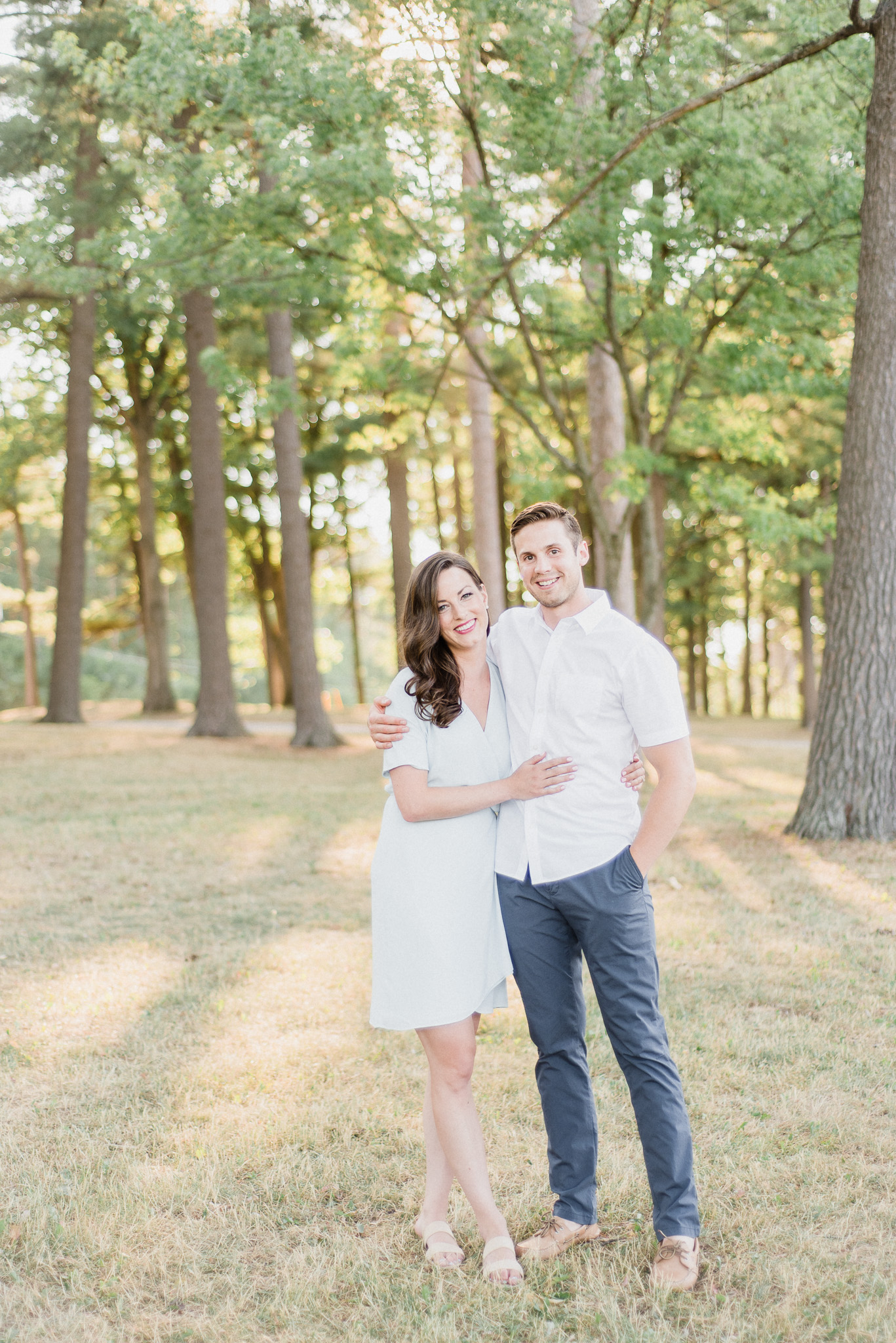 Bright and airy Barrie engagement session by Jenn Kavanagh Photography