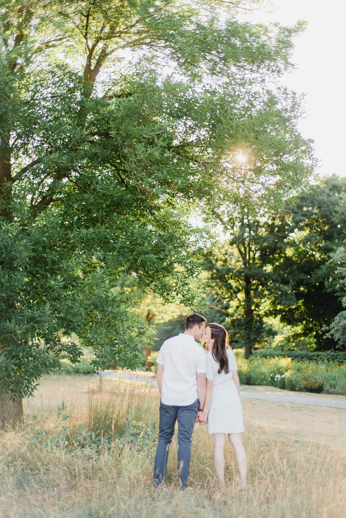 Arboretum Sunnidale Park engagement photos by Jenn Kavanagh Photography