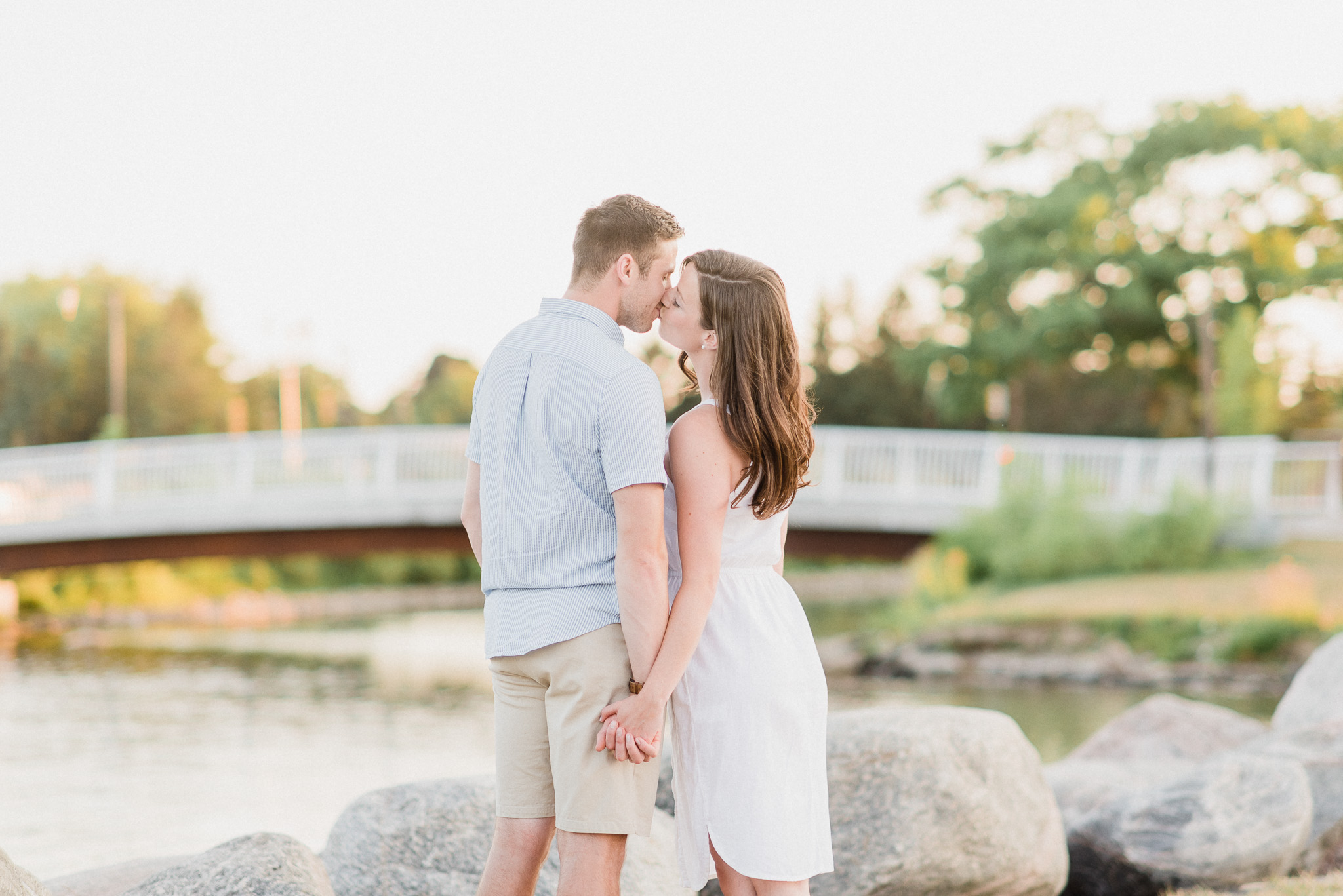 Barrie waterfront engagement photos by Jenn Kavanagh Photography