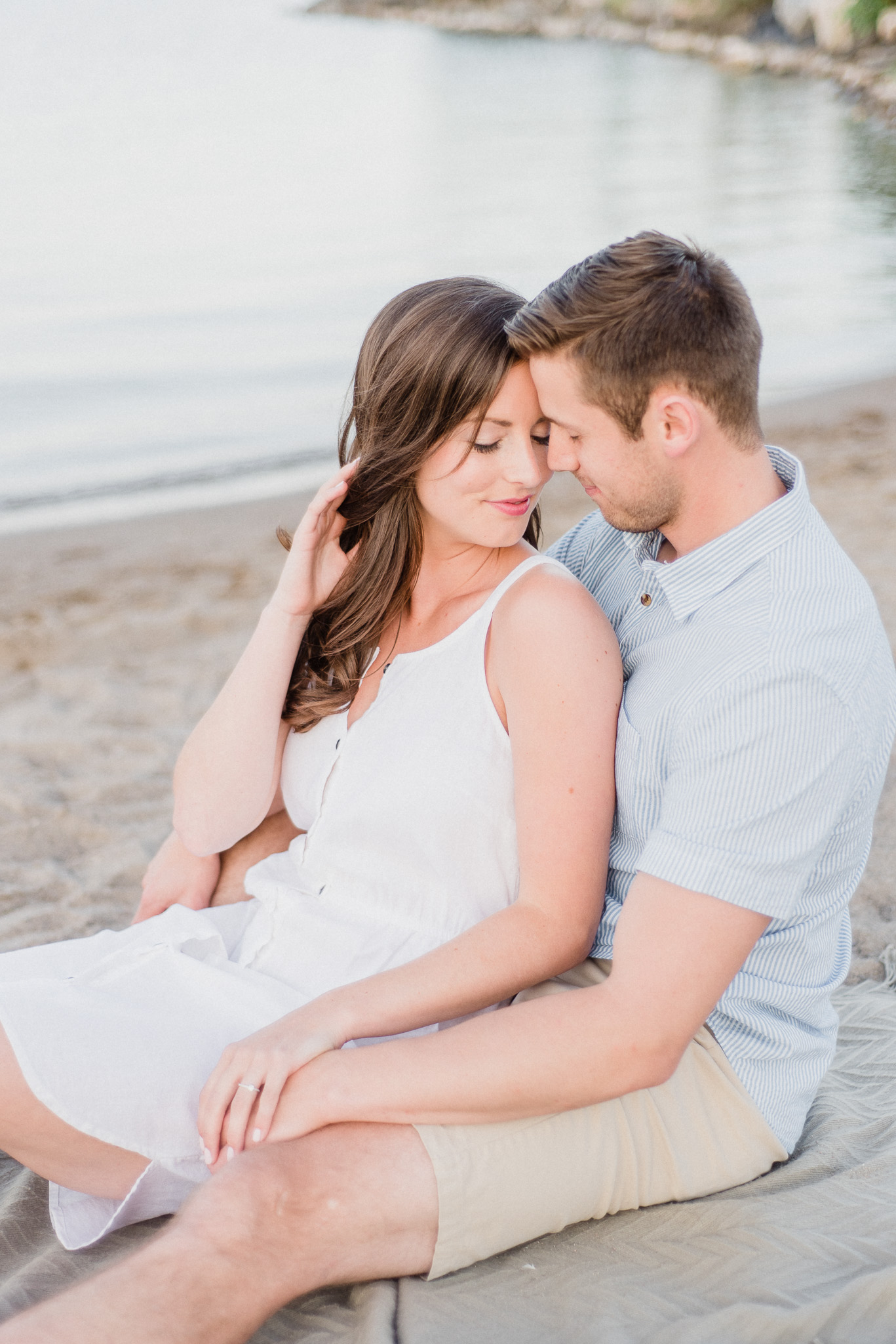 Nautical engagement photos by Jenn Kavanagh Photography