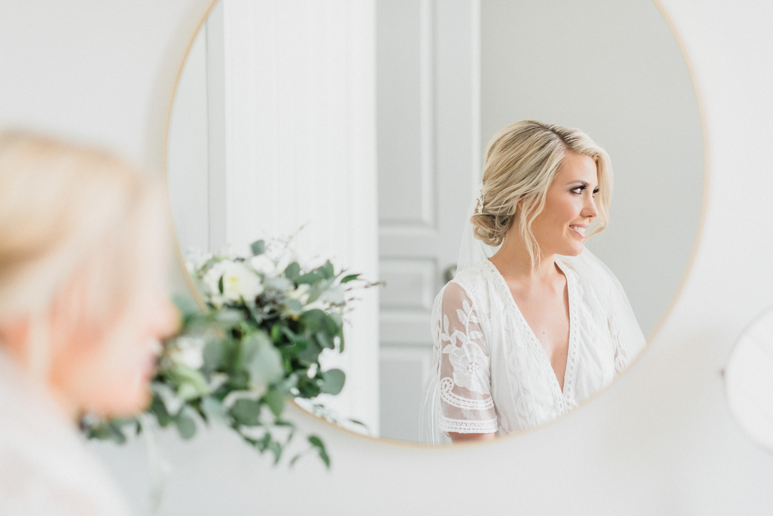 Iconic bridal portrait by Jenn Kavanagh Photography