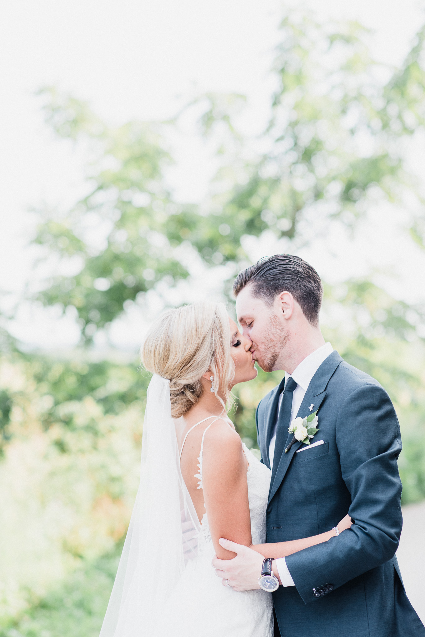 Bride and Groom Portraits at Earth to Table: The Farm by Jenn Kavanagh Photography
