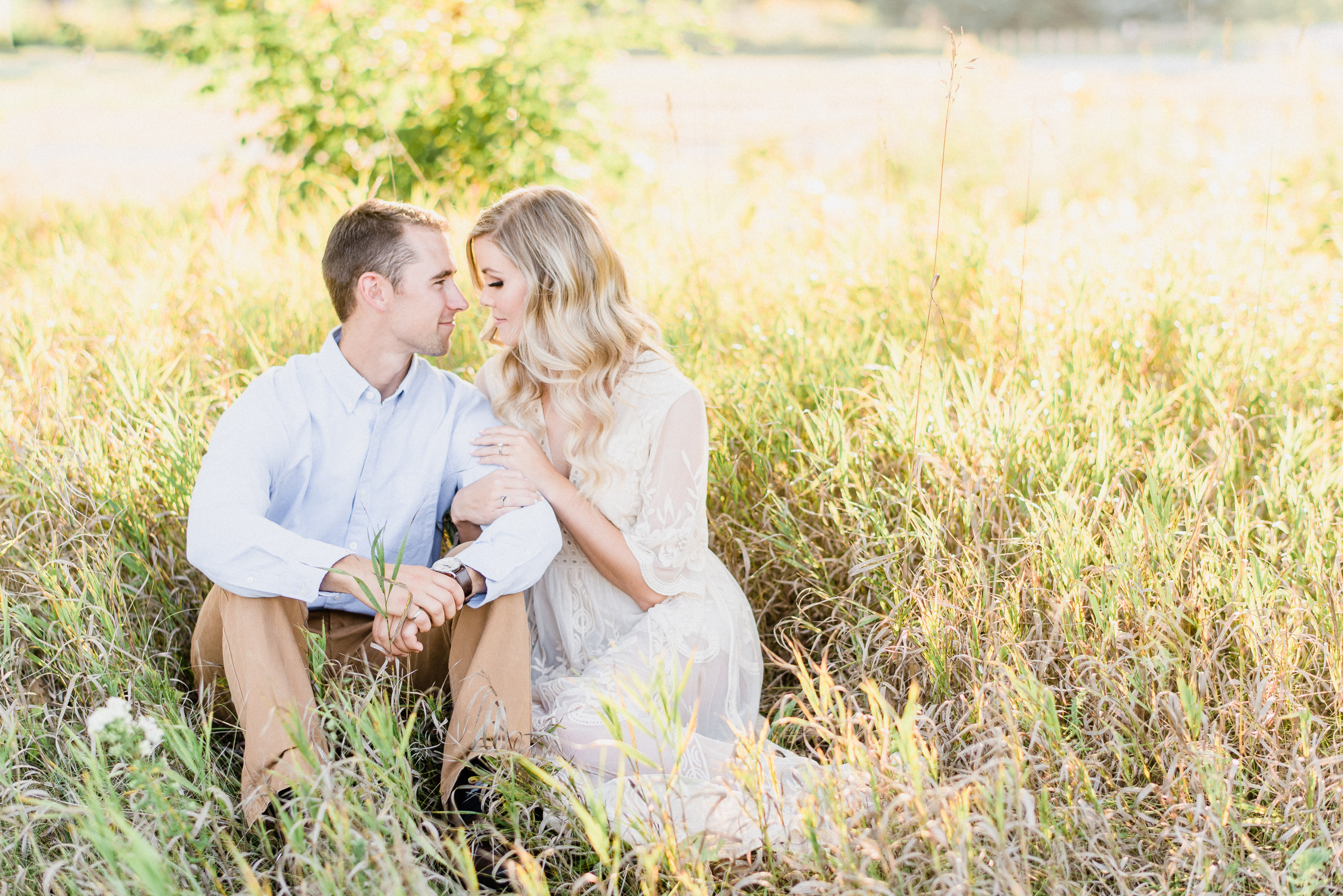 White lace engagement dress | Jenn Kavanagh Photography