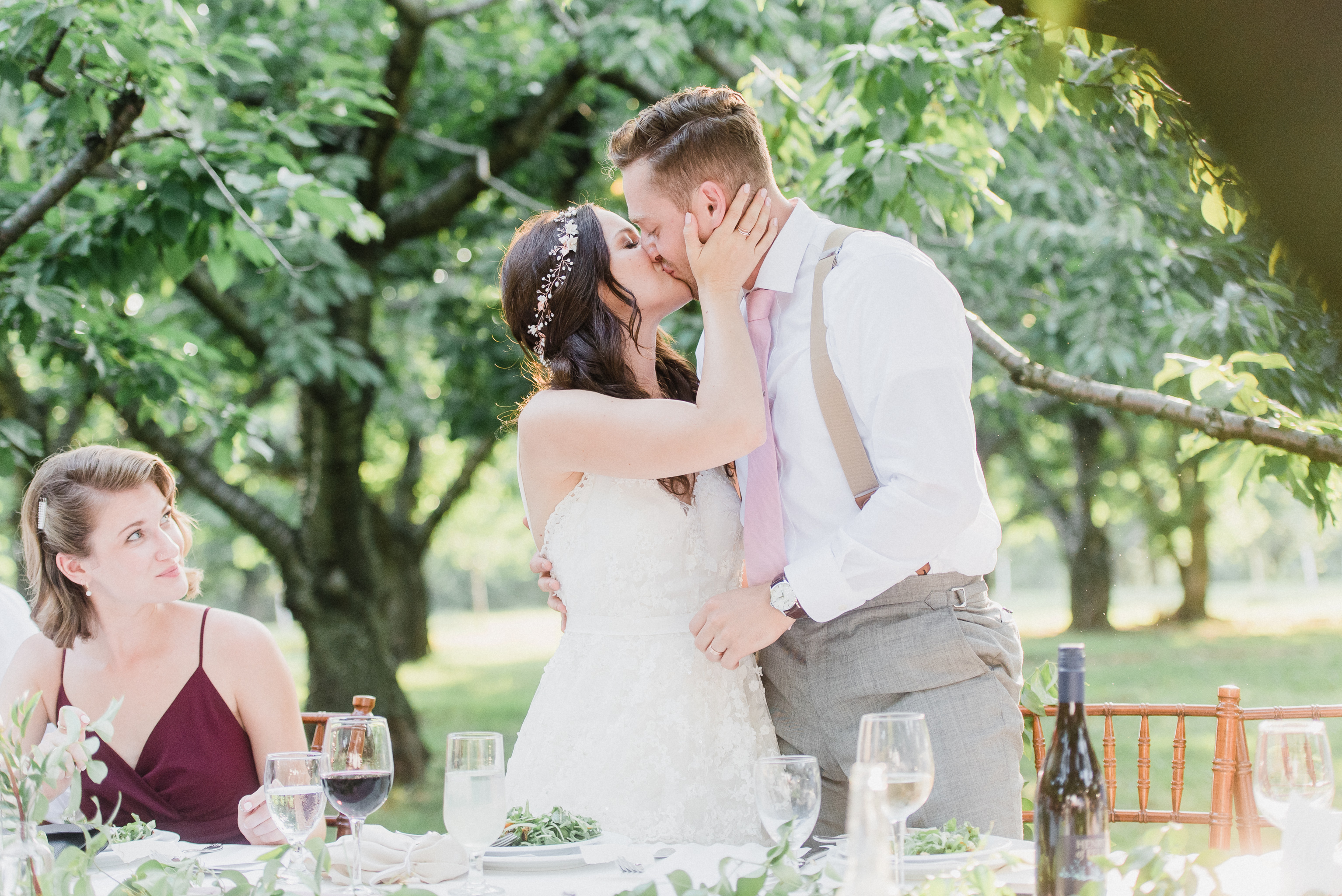 Summertime Wedding at Gracewood Estates by Jenn Kavanagh Photography