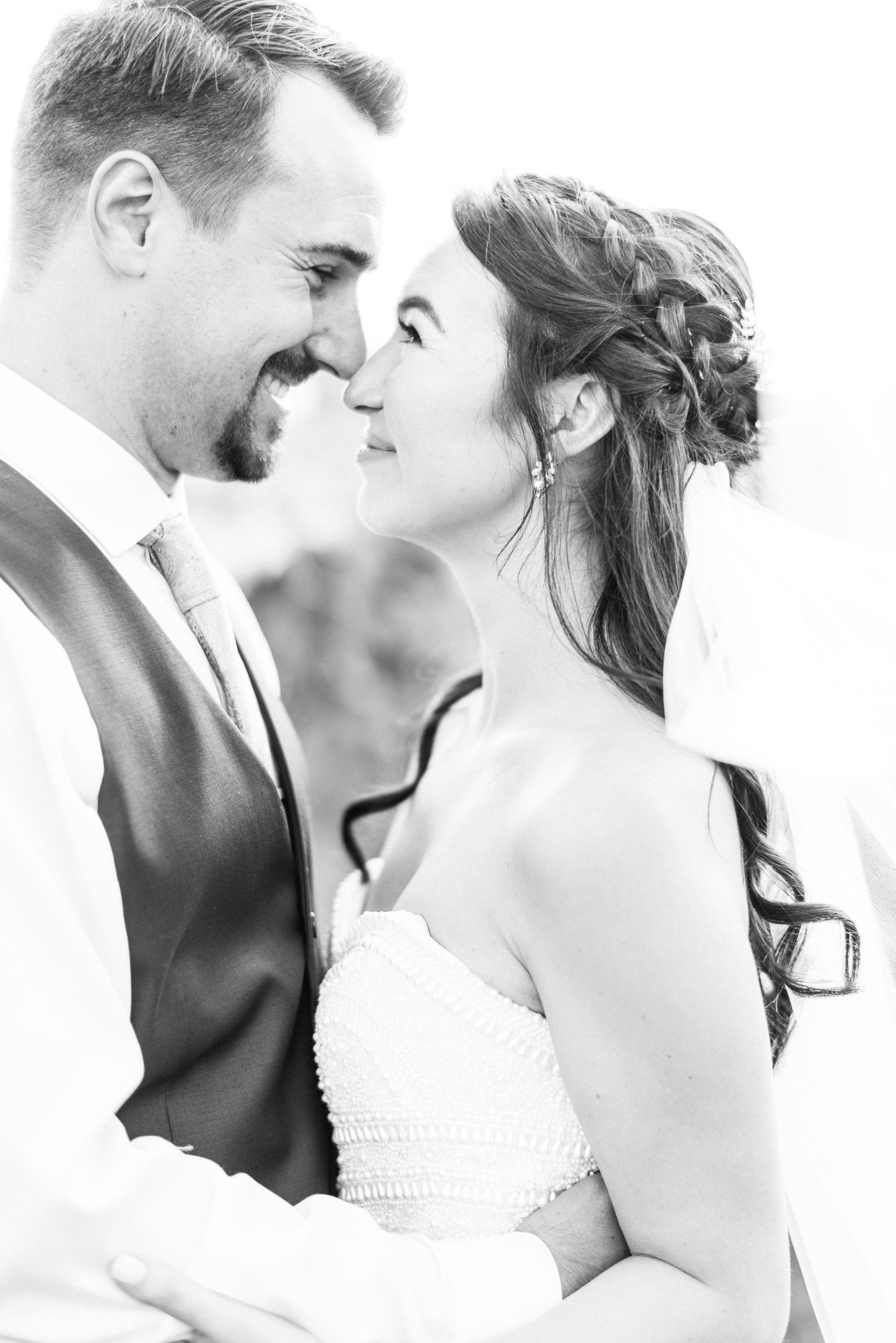 Sunset Wedding Photos by Jenn Kavanagh Photography